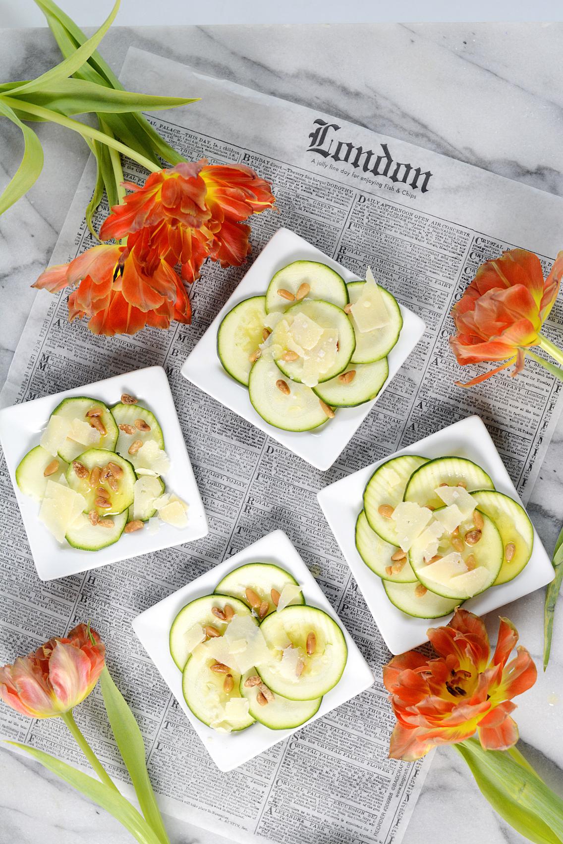 Zucchini Carpaccio Recipe 2
