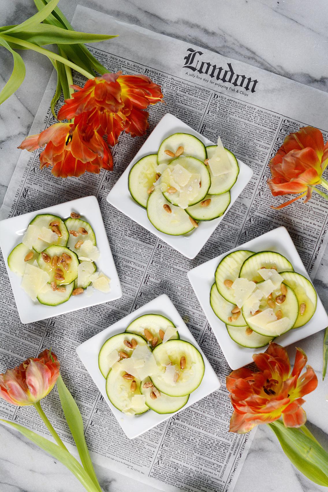 Zucchini Carpaccio Recipe 3