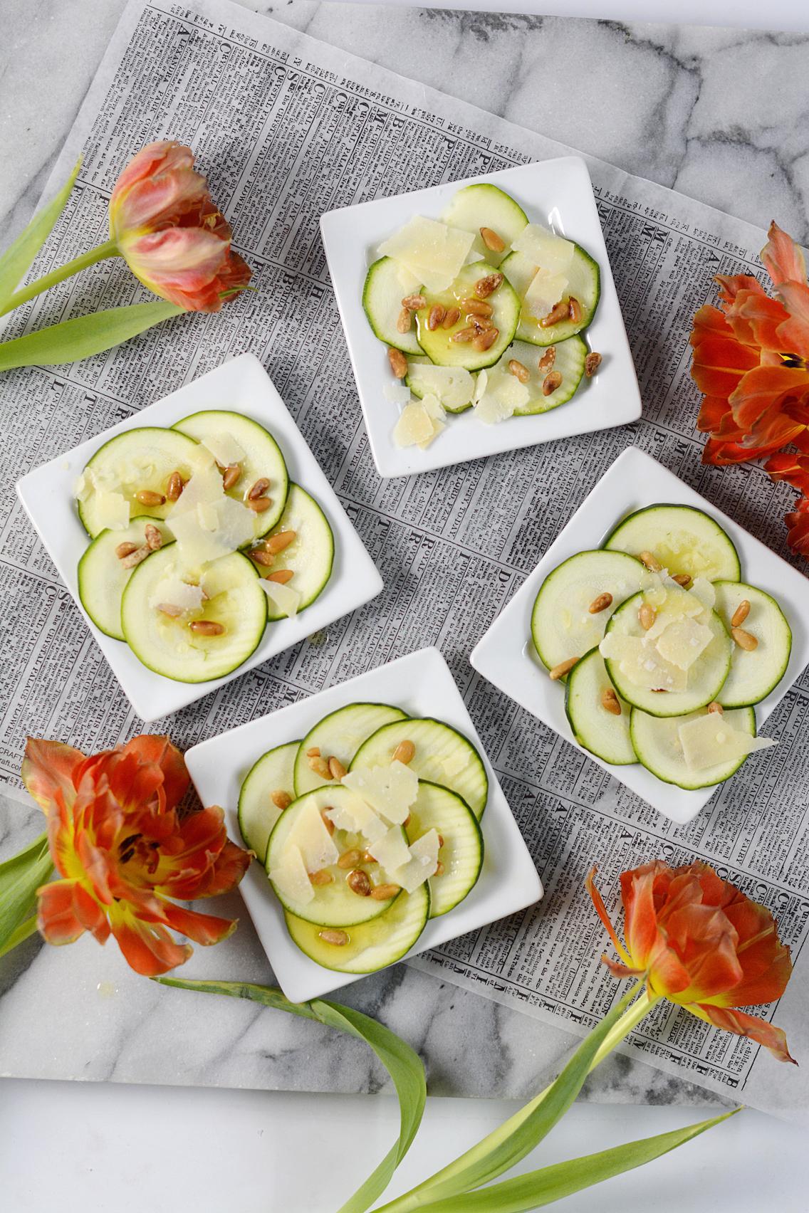 Zucchini Carpaccio Recipe 4