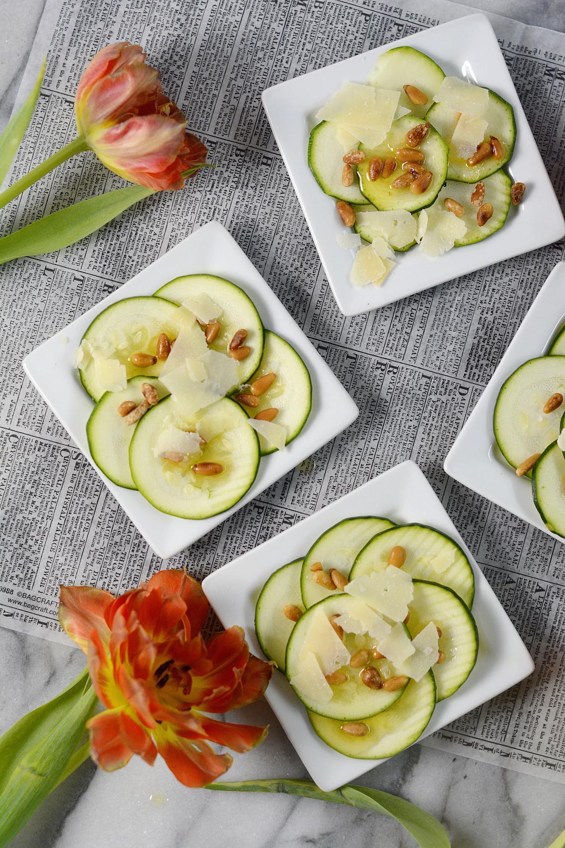Zucchini Carpaccio Recipe 7