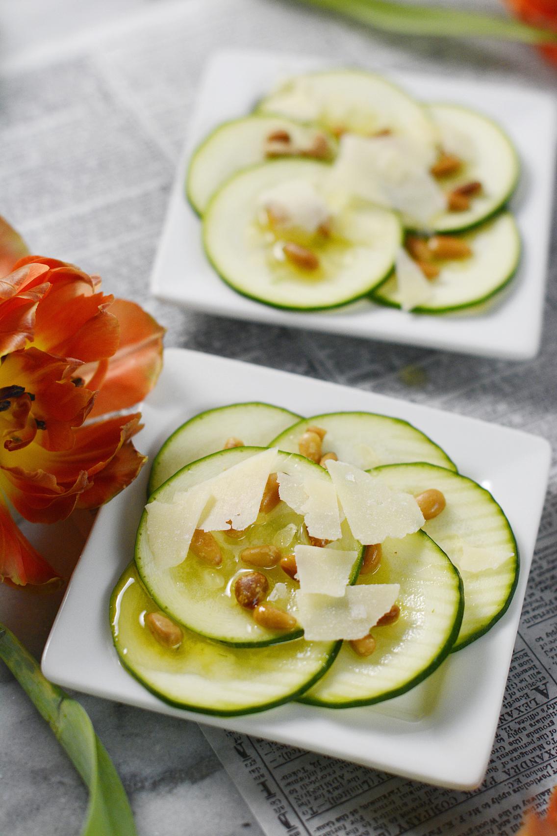 Zucchini Carpaccio Recipe 9