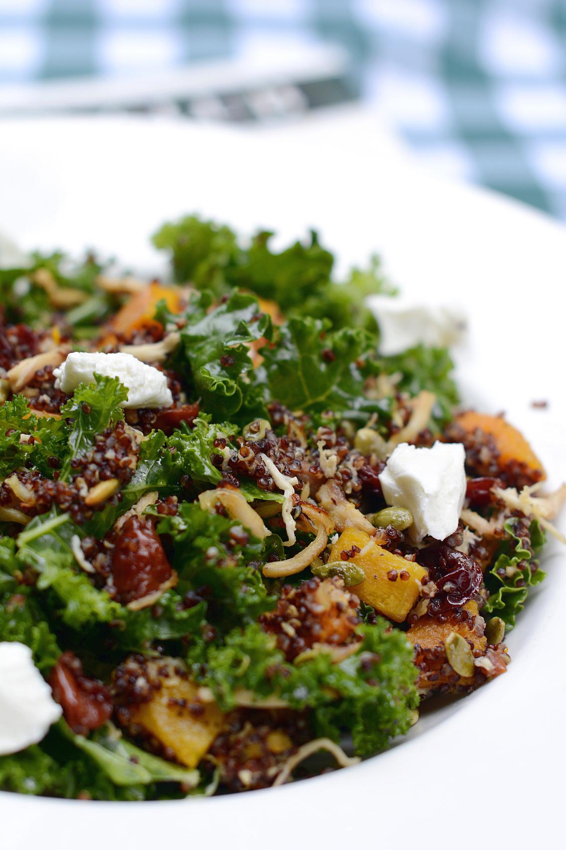 Tortoise Club Kale and Quinoa Salad 2
