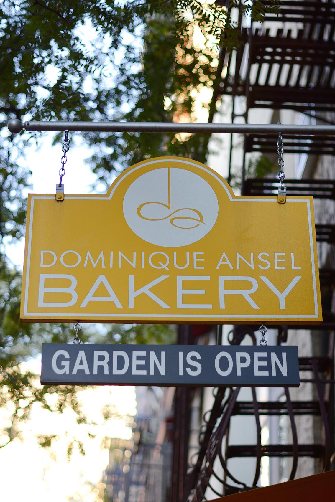 Dominique Ansel Bakery Soho NYC Cronut 1
