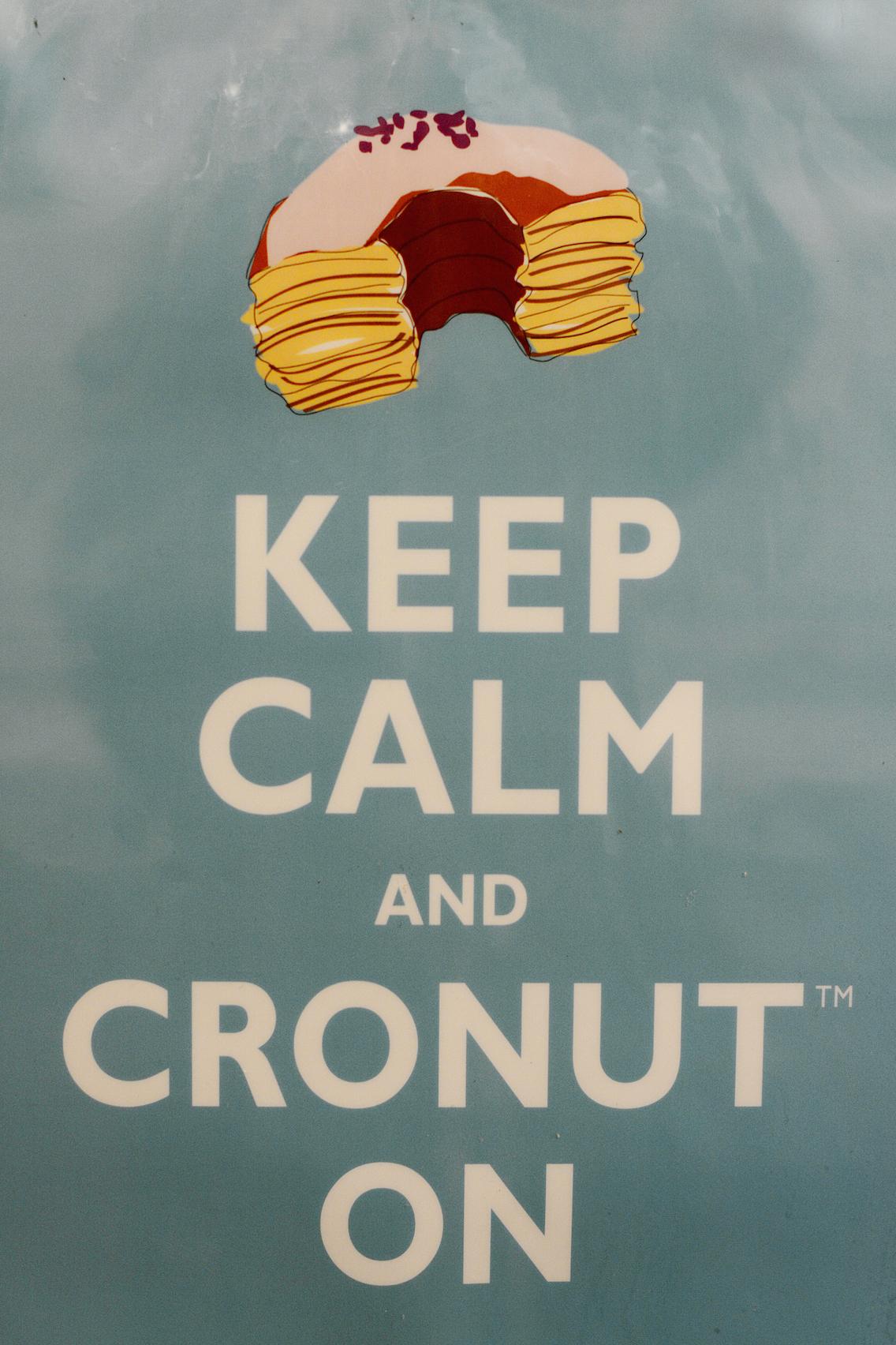 Dominique Ansel Bakery Soho NYC Cronut 2