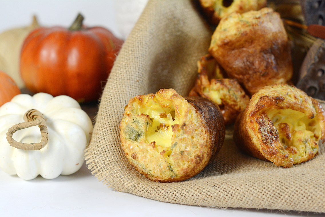 Sage Gruyère Popovers 7