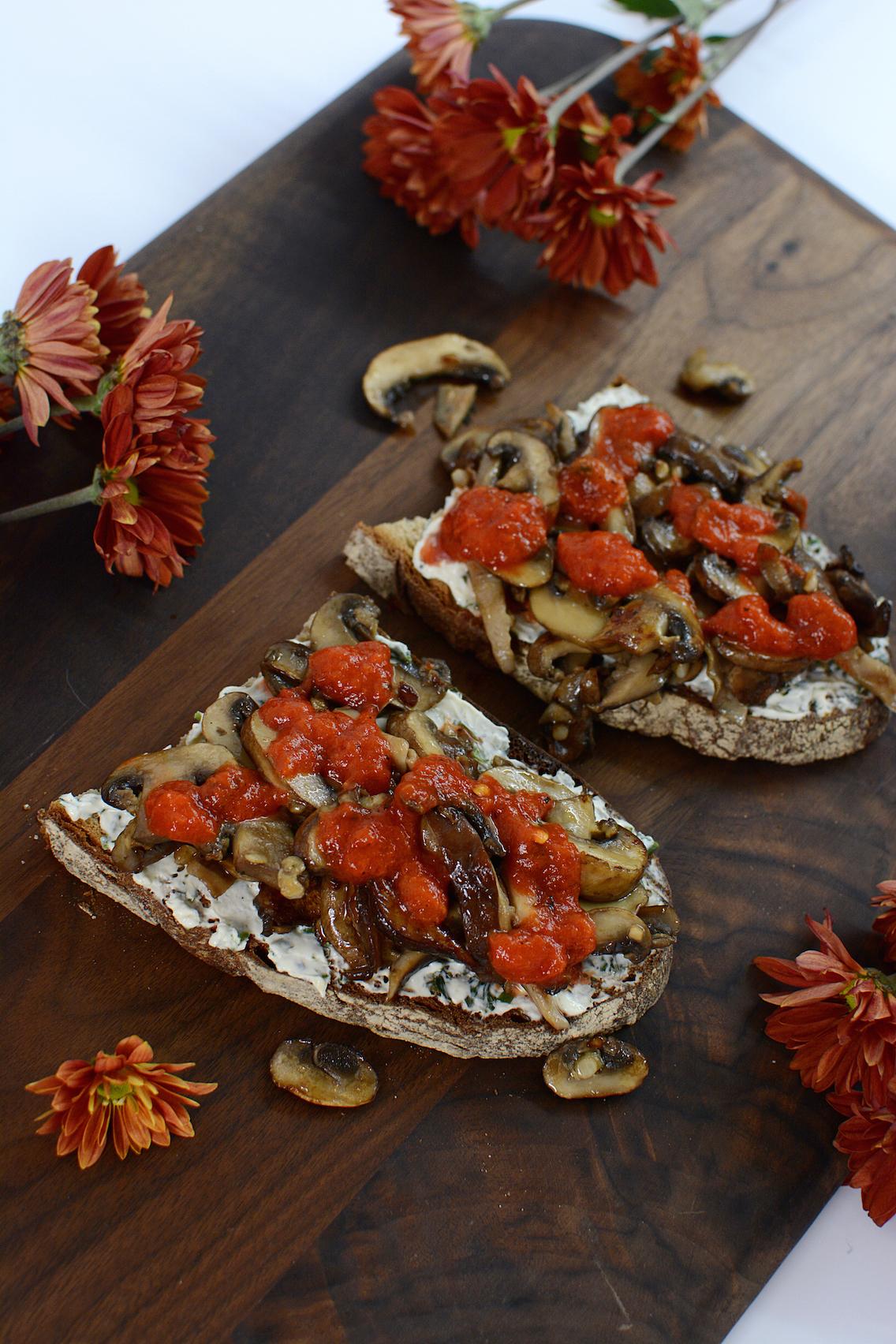 Mushroom Toast Recipe 1
