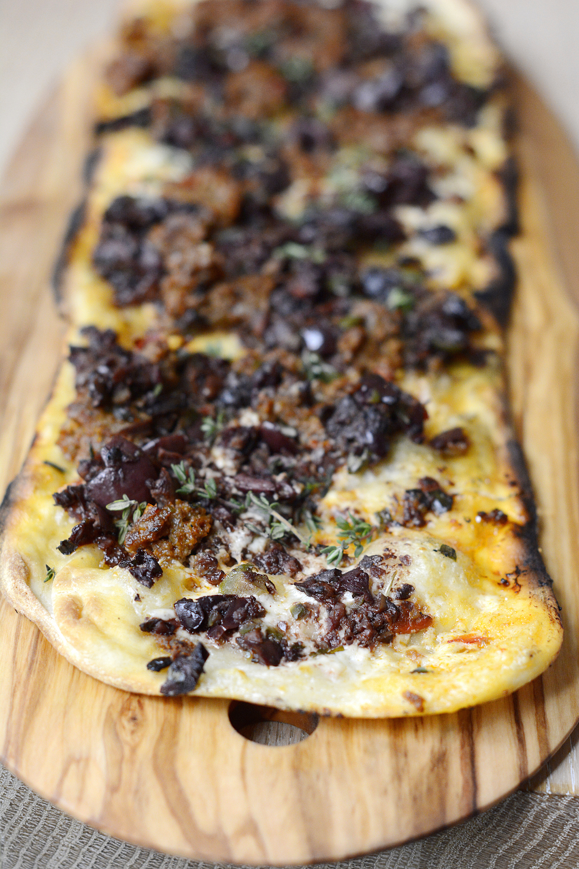 Travelle Chicago Lamb Sausage Flatbread