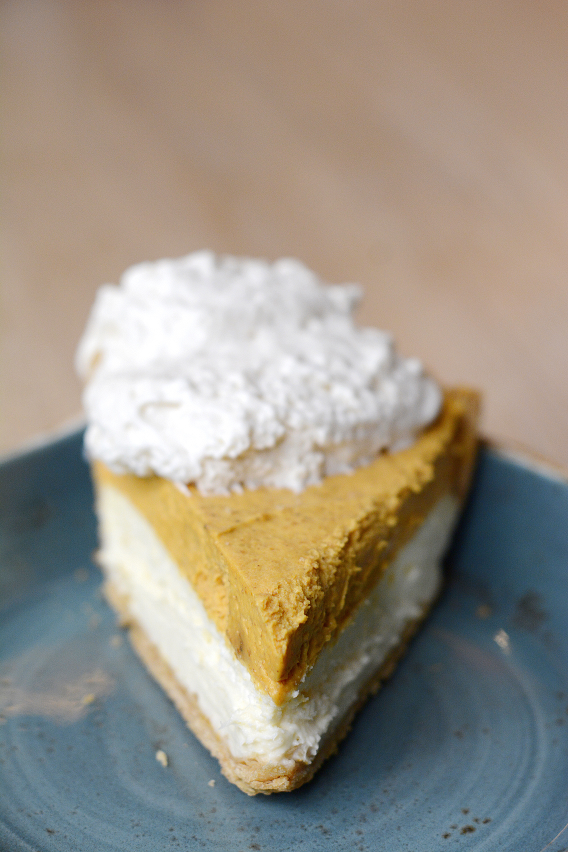 Travelle Chicago Pumpkin Cheesecake Pie