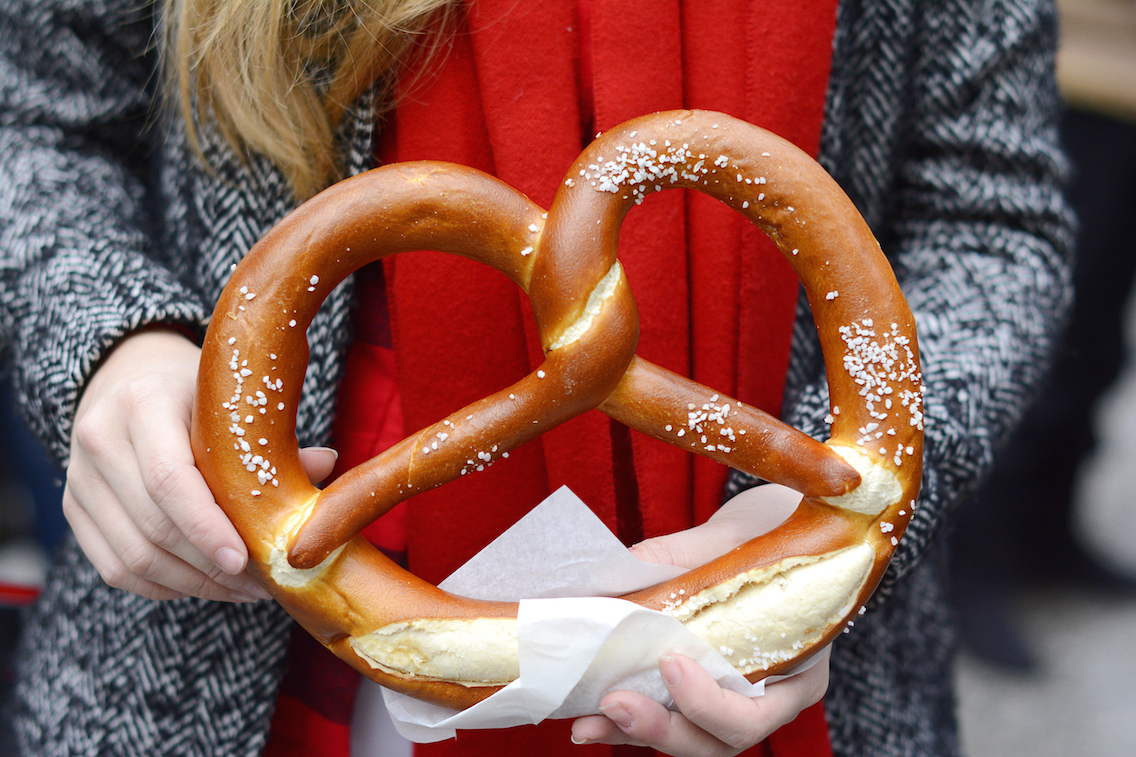 Christkindl Market Chicago 2015 Pretzel