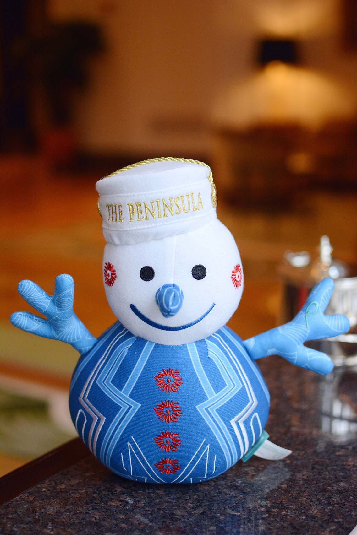 Peninsula Chicago Holiday Afternoon Tea 2015 Snow Page