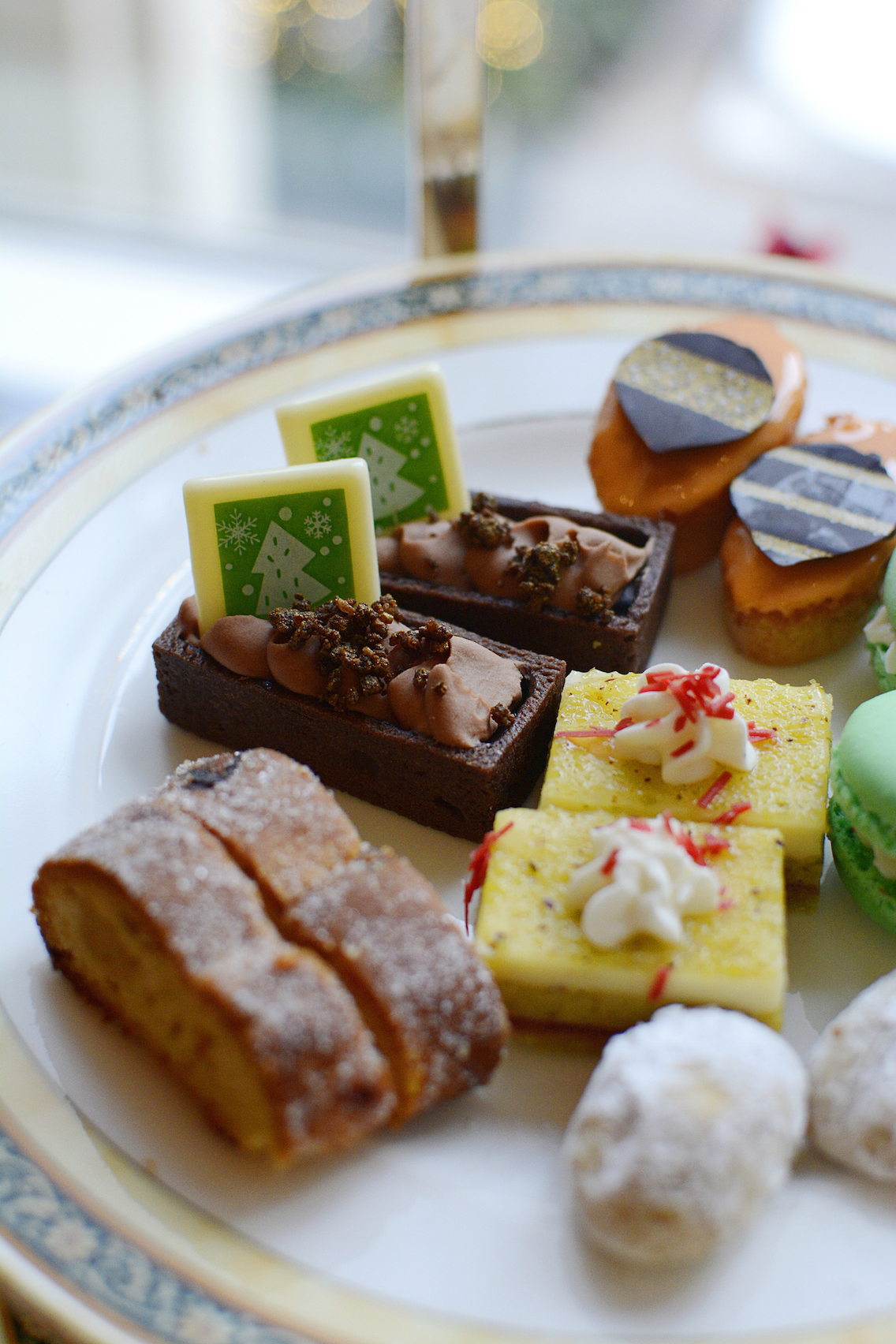Peninsula Chicago Holiday Afternoon Tea 2015 19