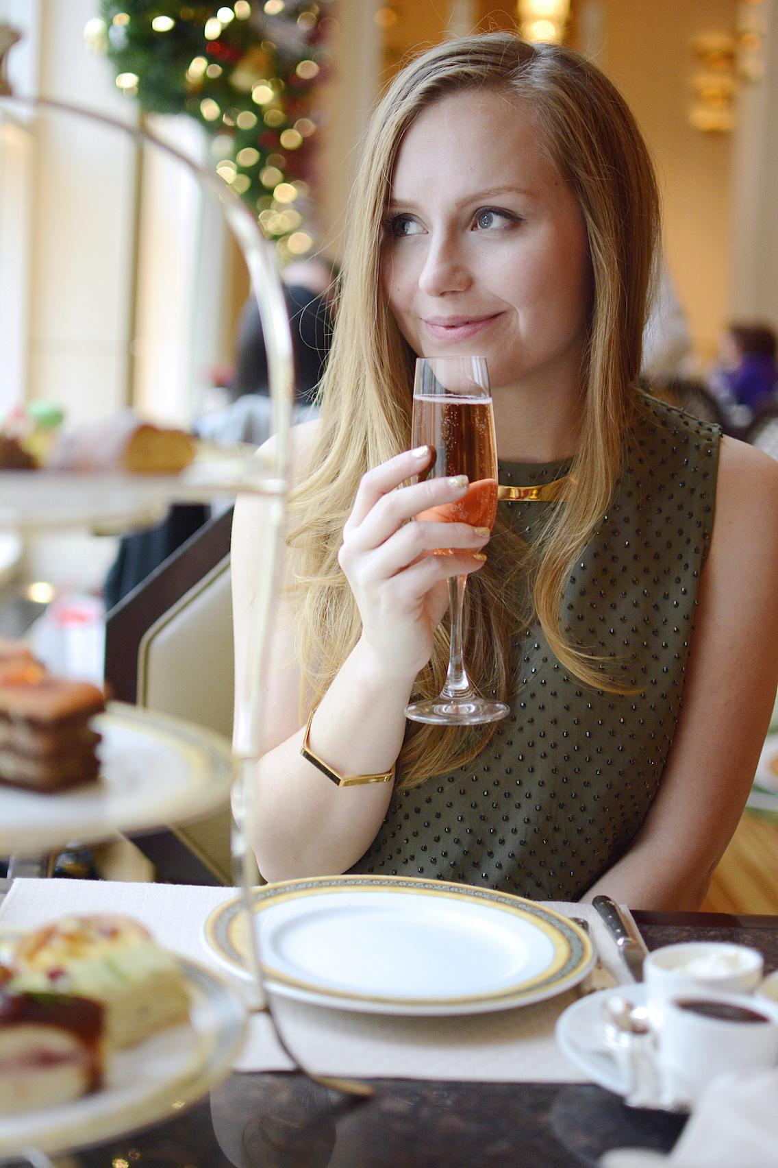 Peninsula Chicago Holiday Afternoon Tea 2015 28