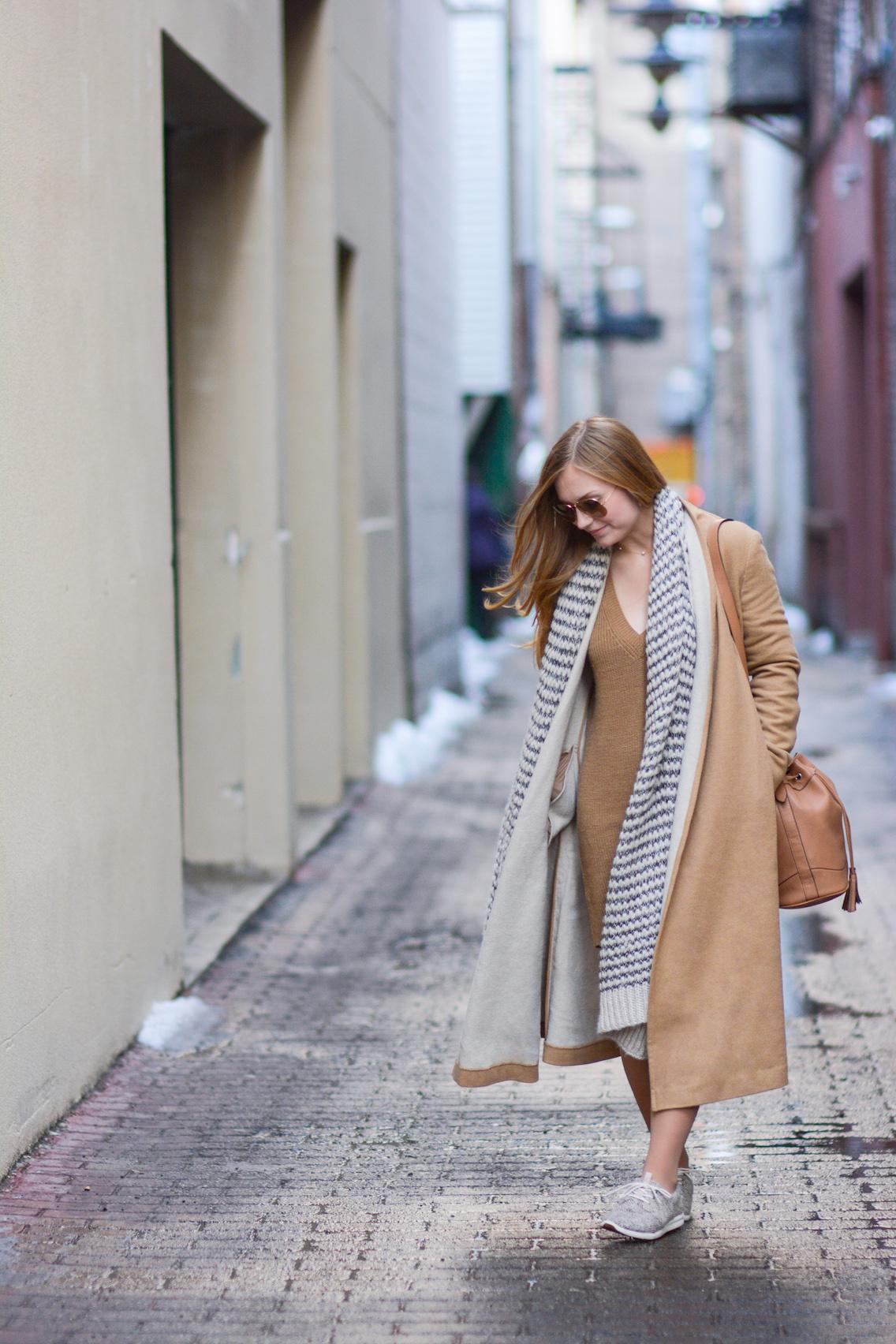 Asos Coat Toms Sneakers Tiffany Pearls 21