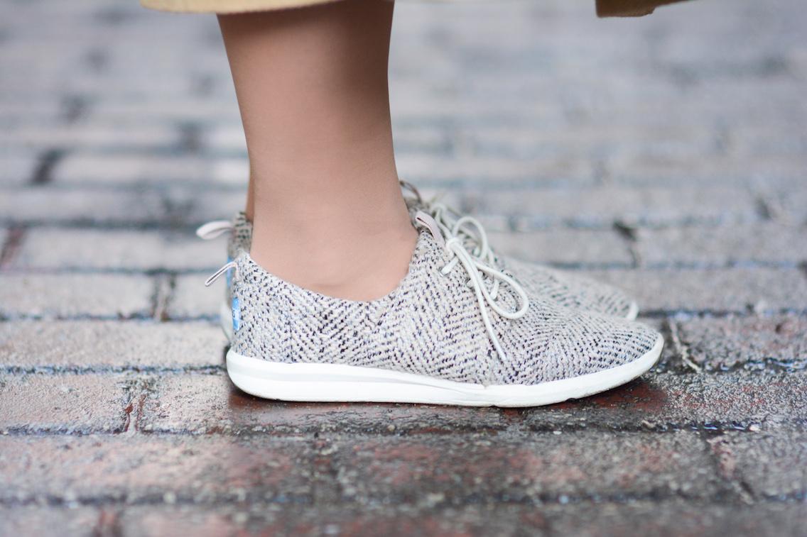 Asos Coat Toms Sneakers Tiffany Pearls 2