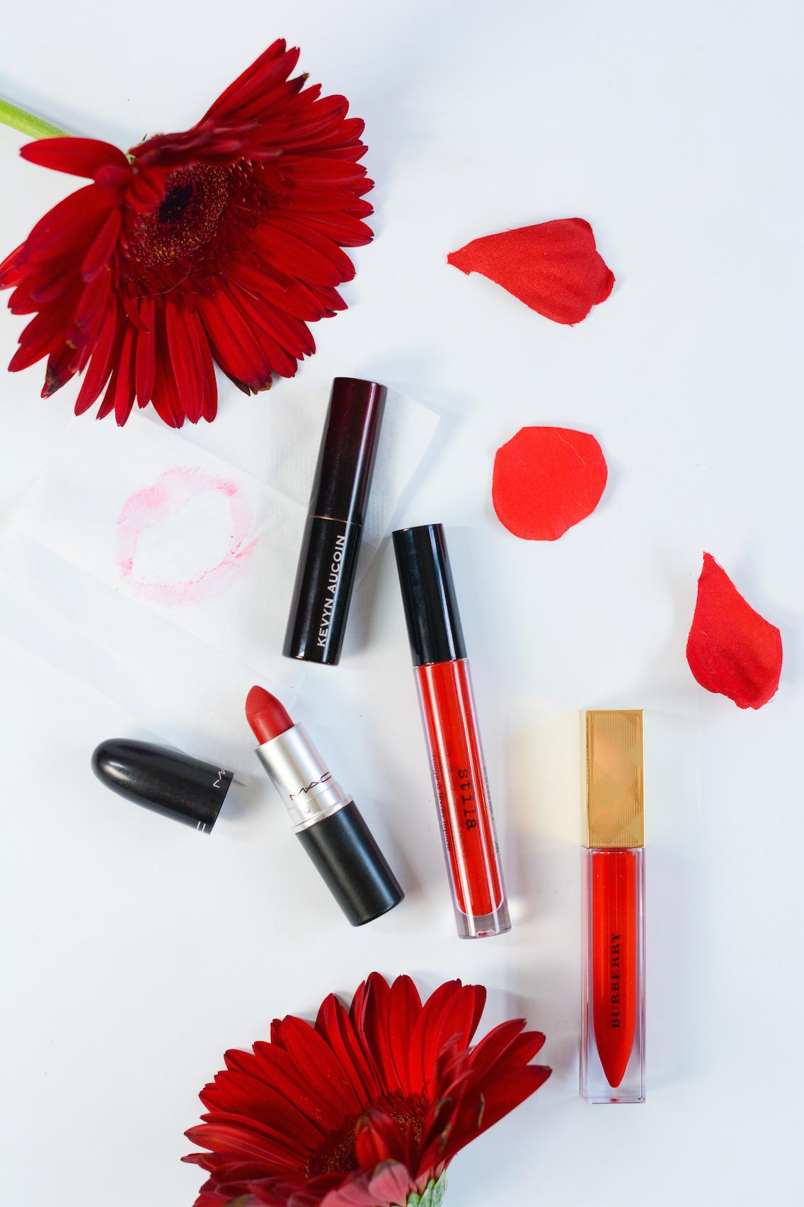 Best Red Lipsticks Stila MAC Burberry Kevyn Aucoin 13