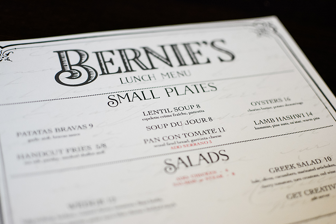 Bernie's Lunch and Supper Chicago 9