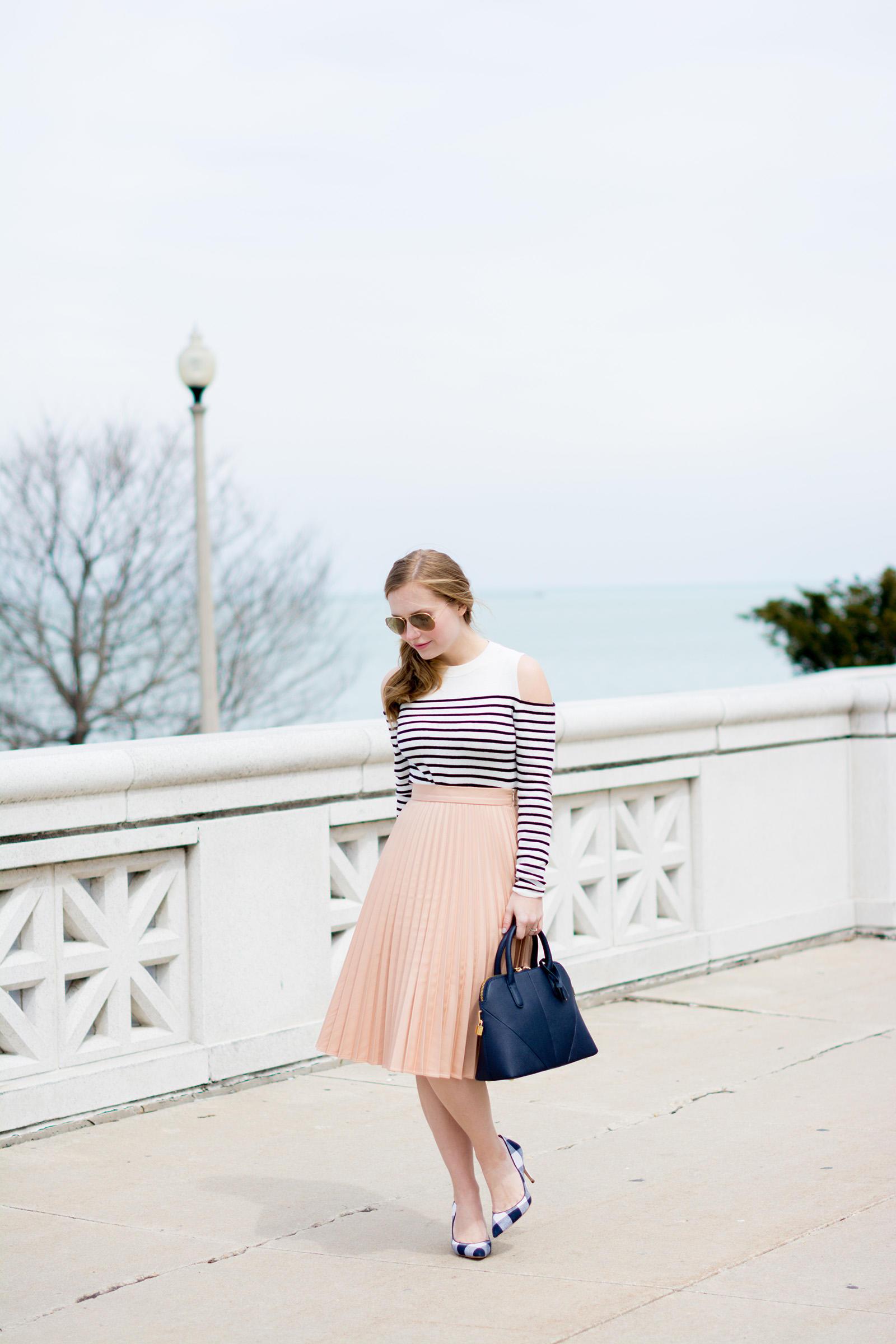 Ann Taylor Gingham Spring Style