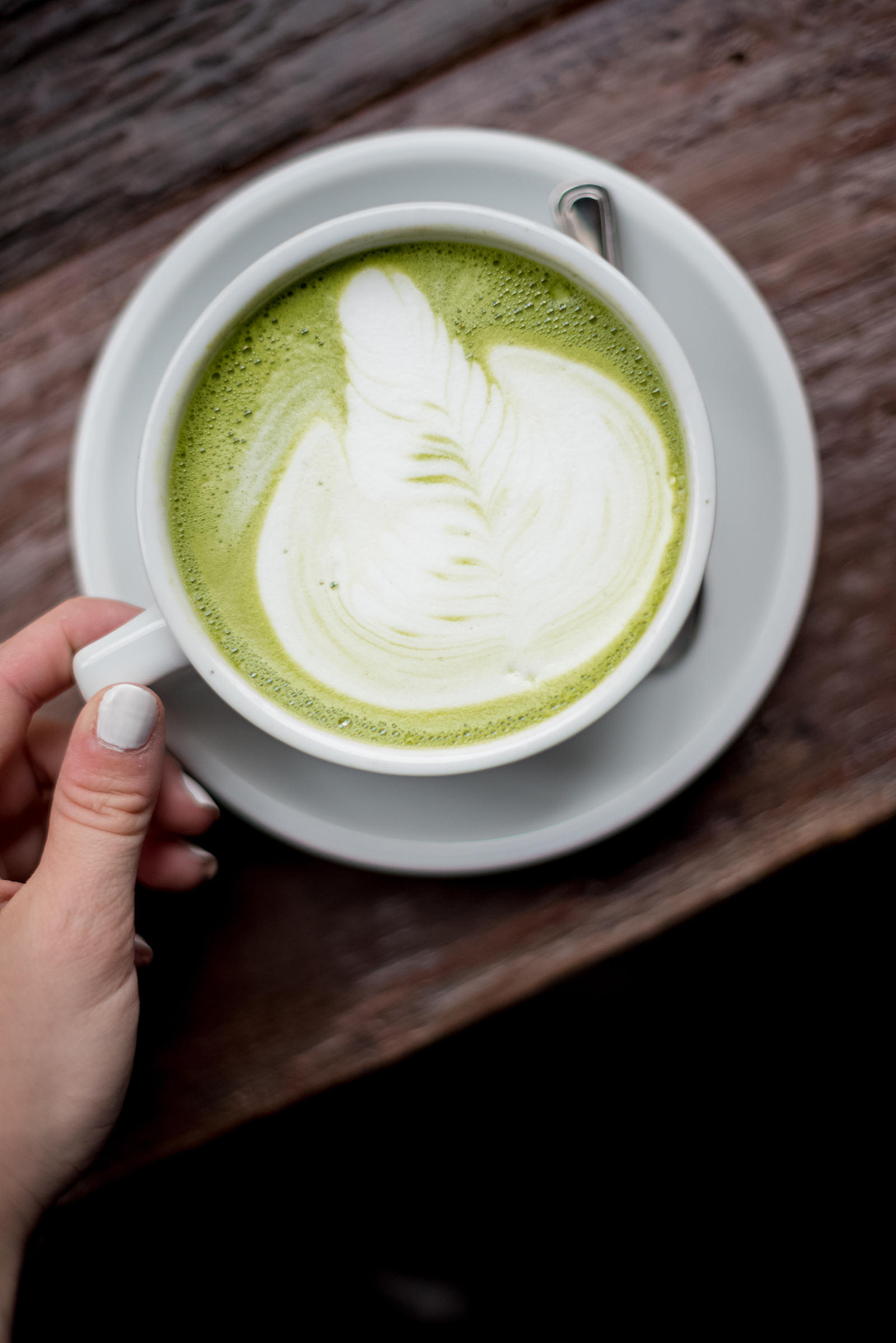 Sawada Matcha Green Tea Latte Chicago West Loop