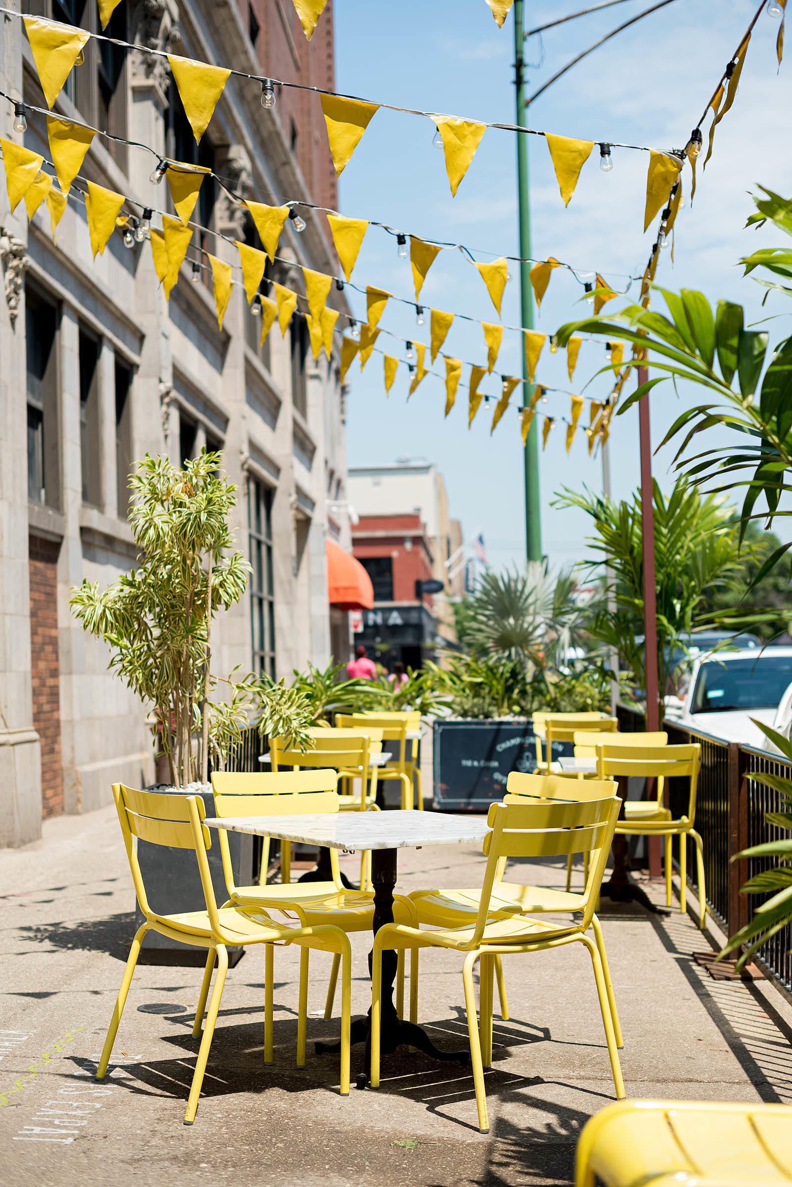 Expat on Green Chicago Summer Restaurant