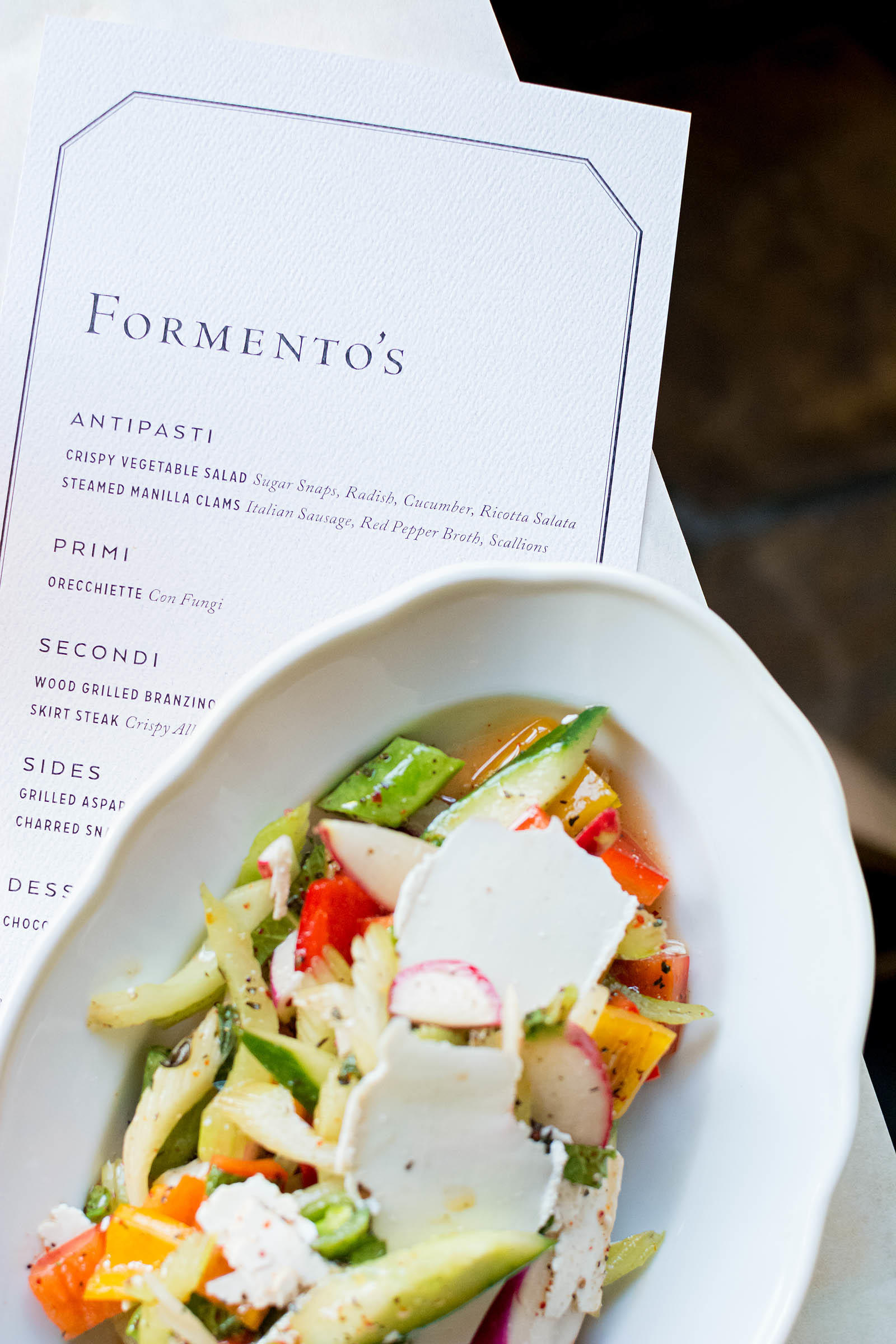 Formento's West Loop Italian Restaurant