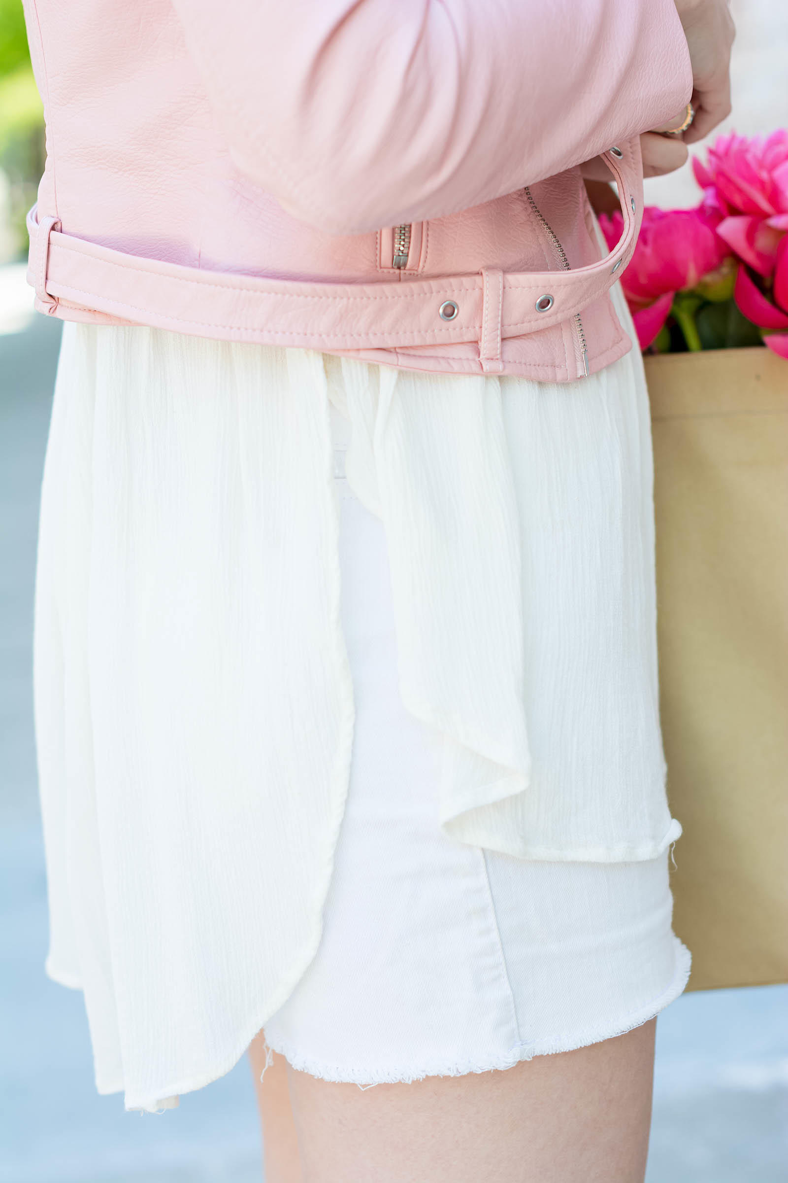 Pink White Summer Look Christian Louboutin Spachica