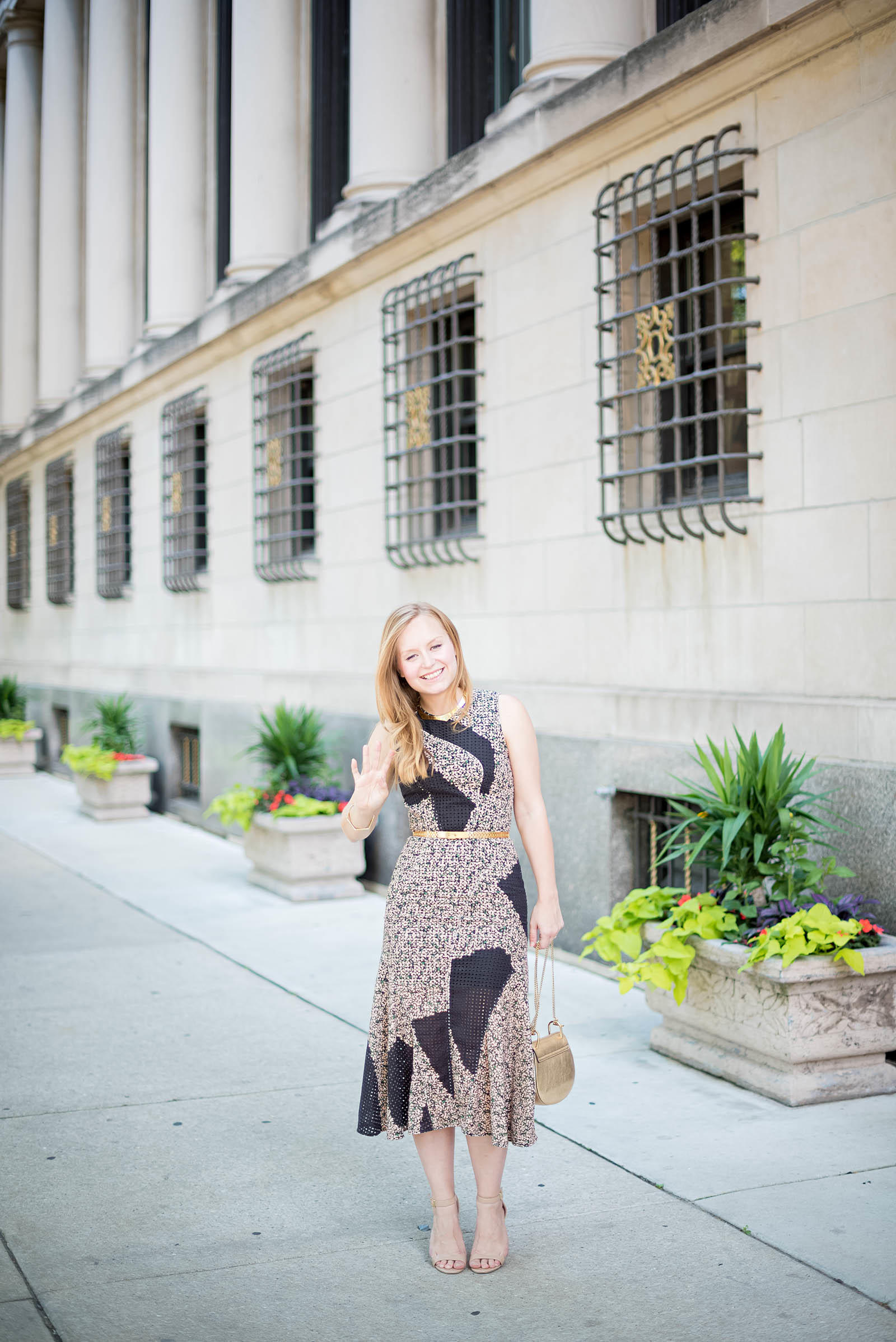 Rent the Runway Outfit Cedric Charlier Chloe Reiss