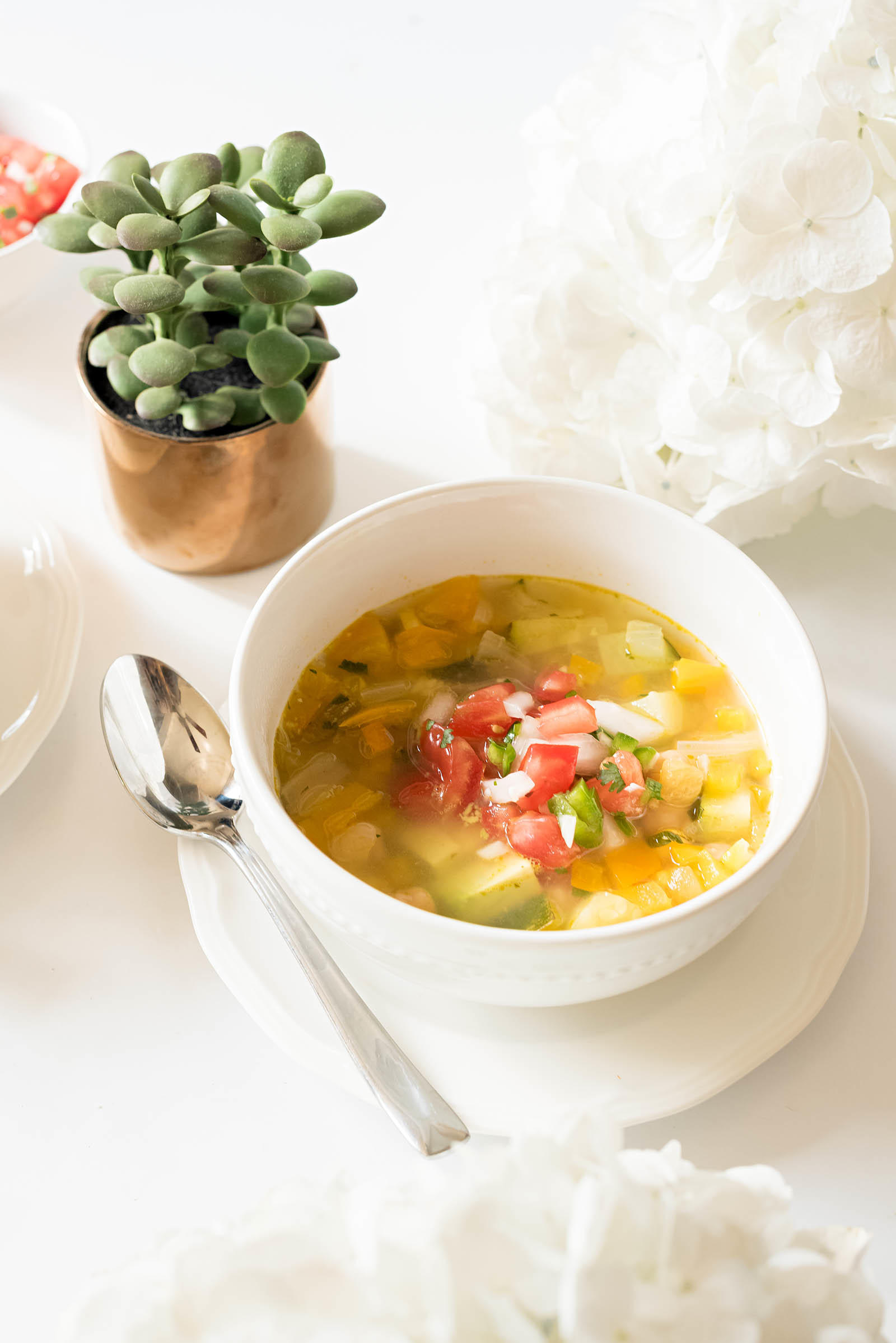 Vegetarian Tlalpeño Soup Recipe