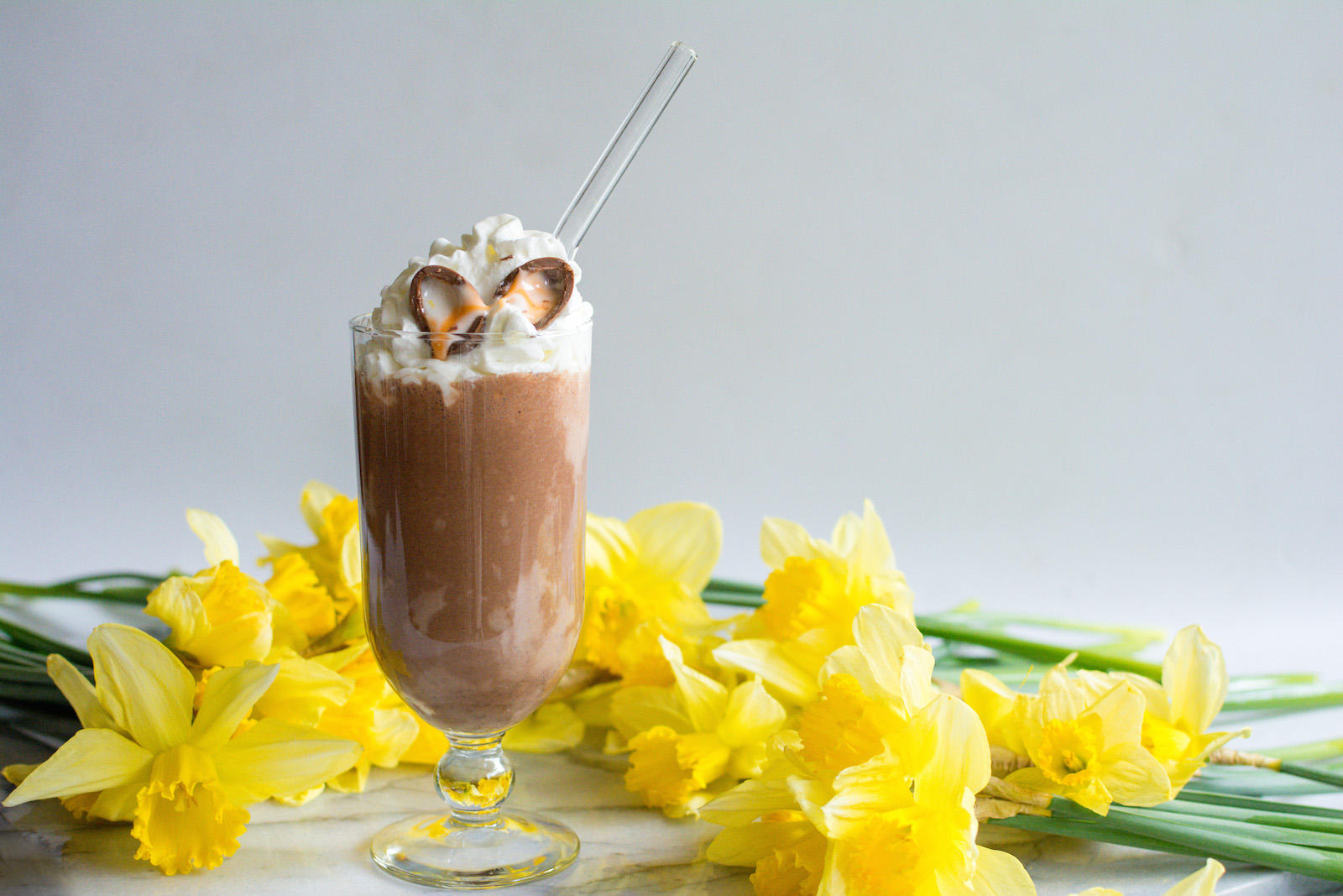 Cadbury Creme Egg Easter Milkshake Recipe