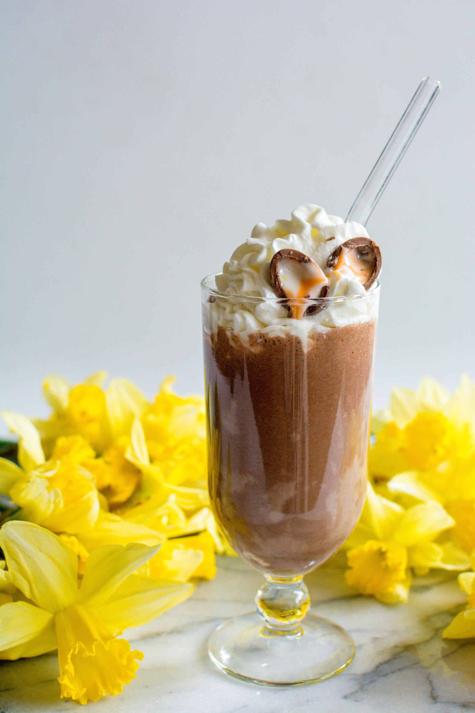 Cadbury Creme Egg Easter Milkshake Recipe