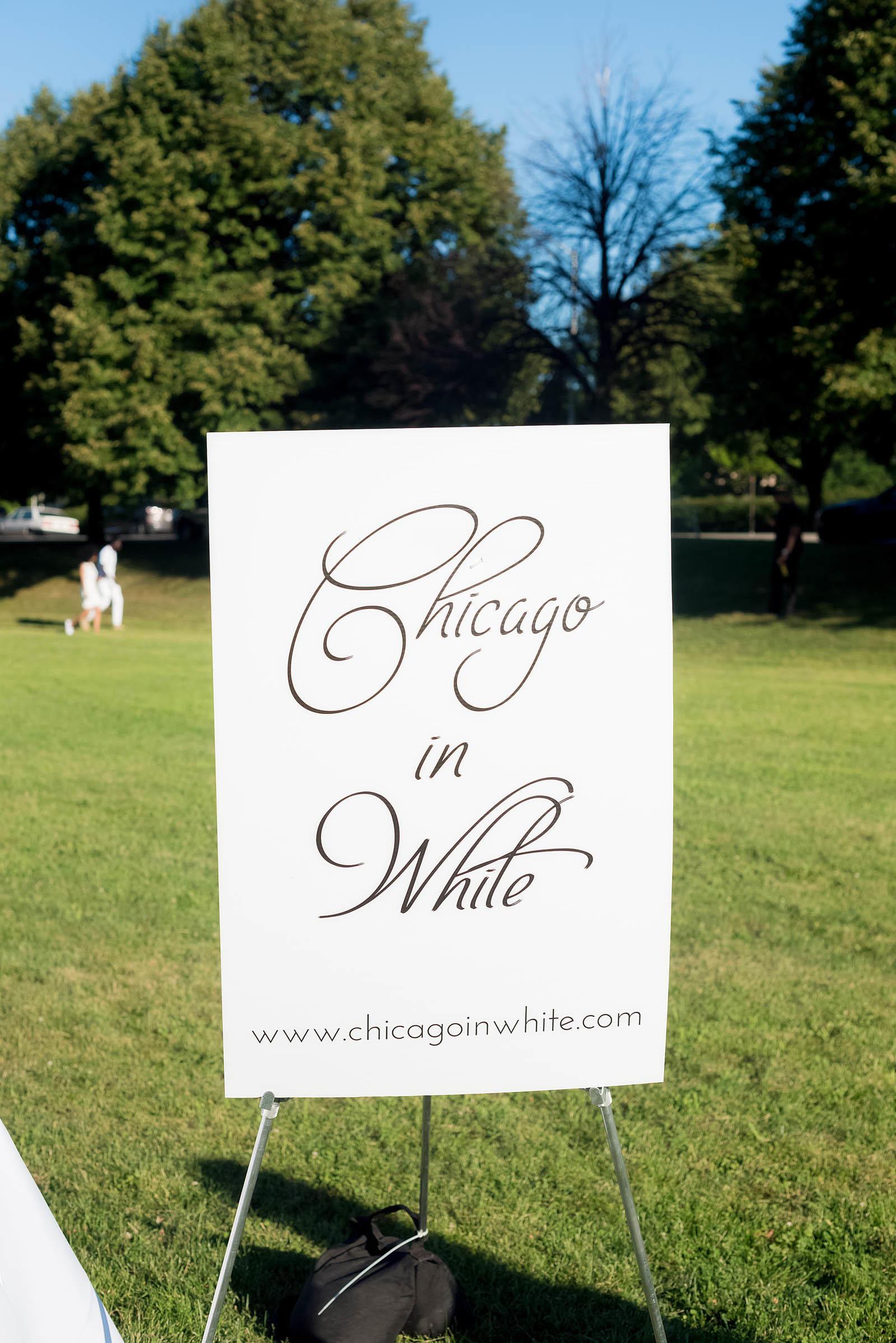 Chicago in White 2016 Dinner Hyde Park