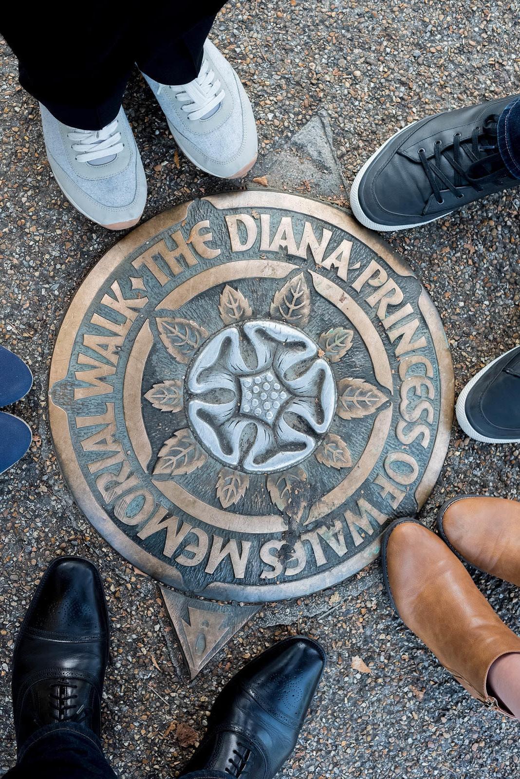 Hyde Park London Diana Princess of Wales Memorial Walk