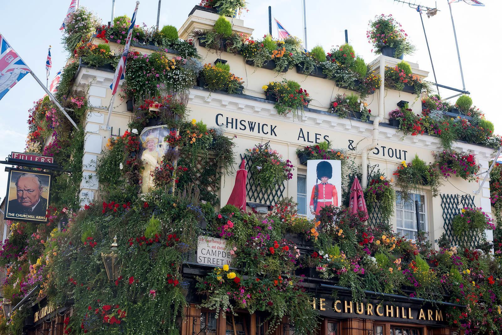 The Churchill Arms Kensington London Pub