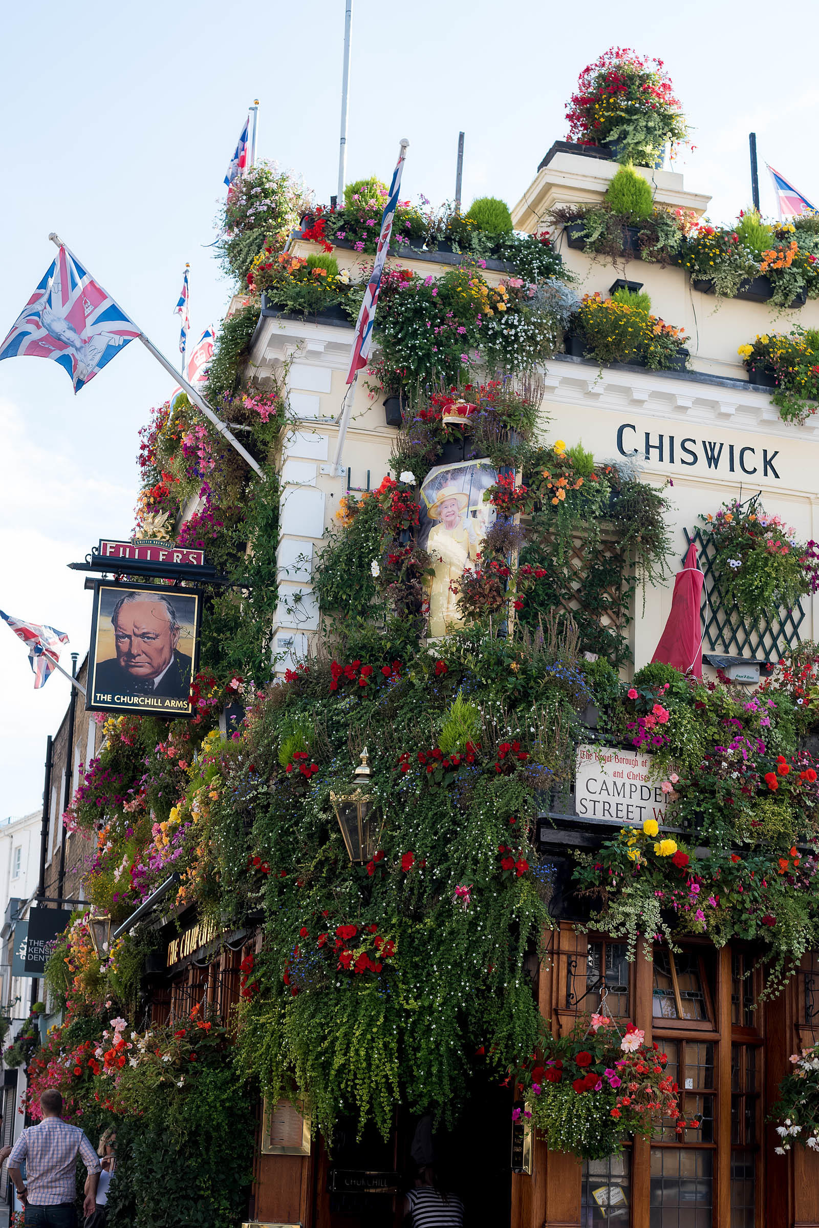 The Churchill Arms Kensington London Pub