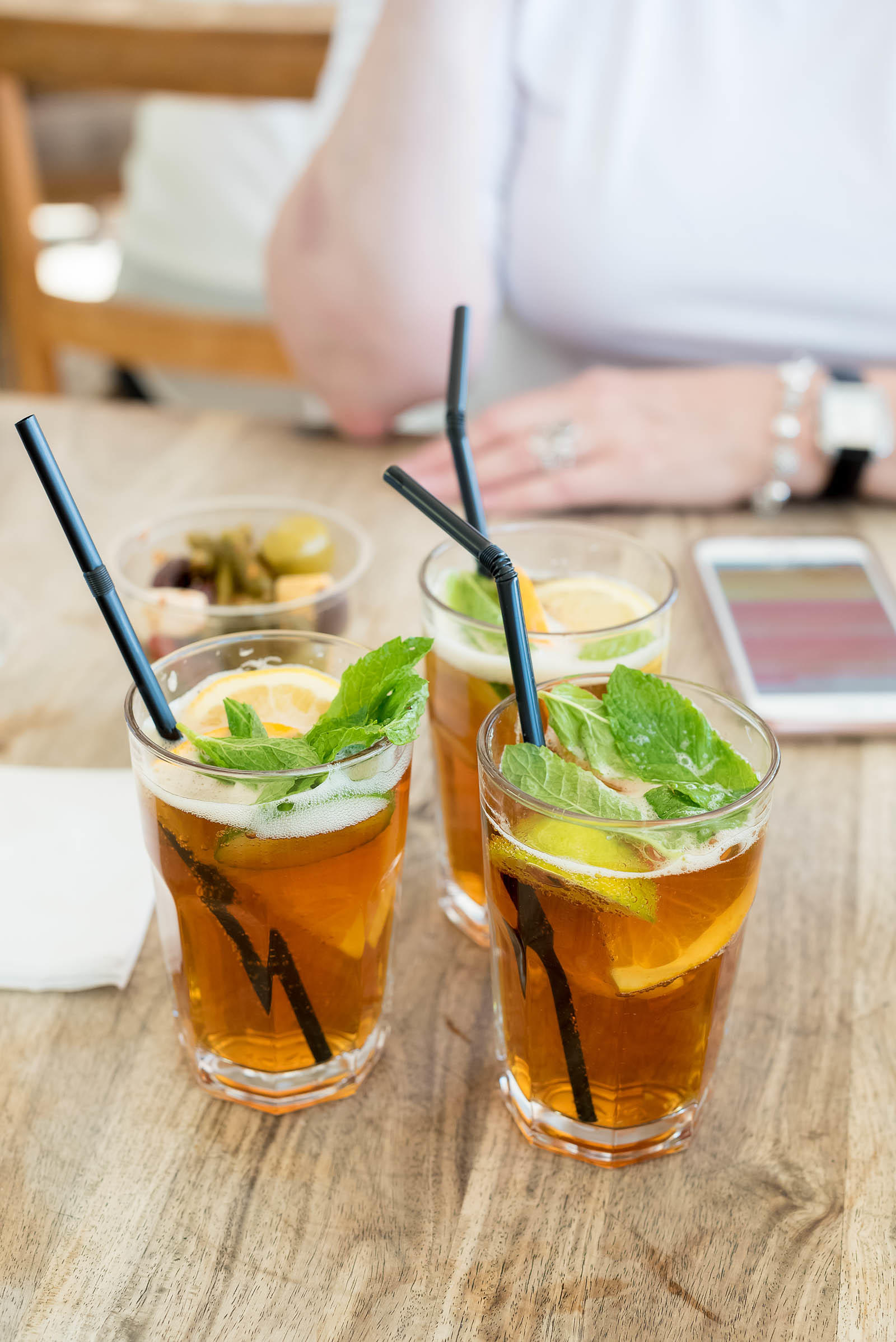 Serpentine Cafe Pimm's Cup