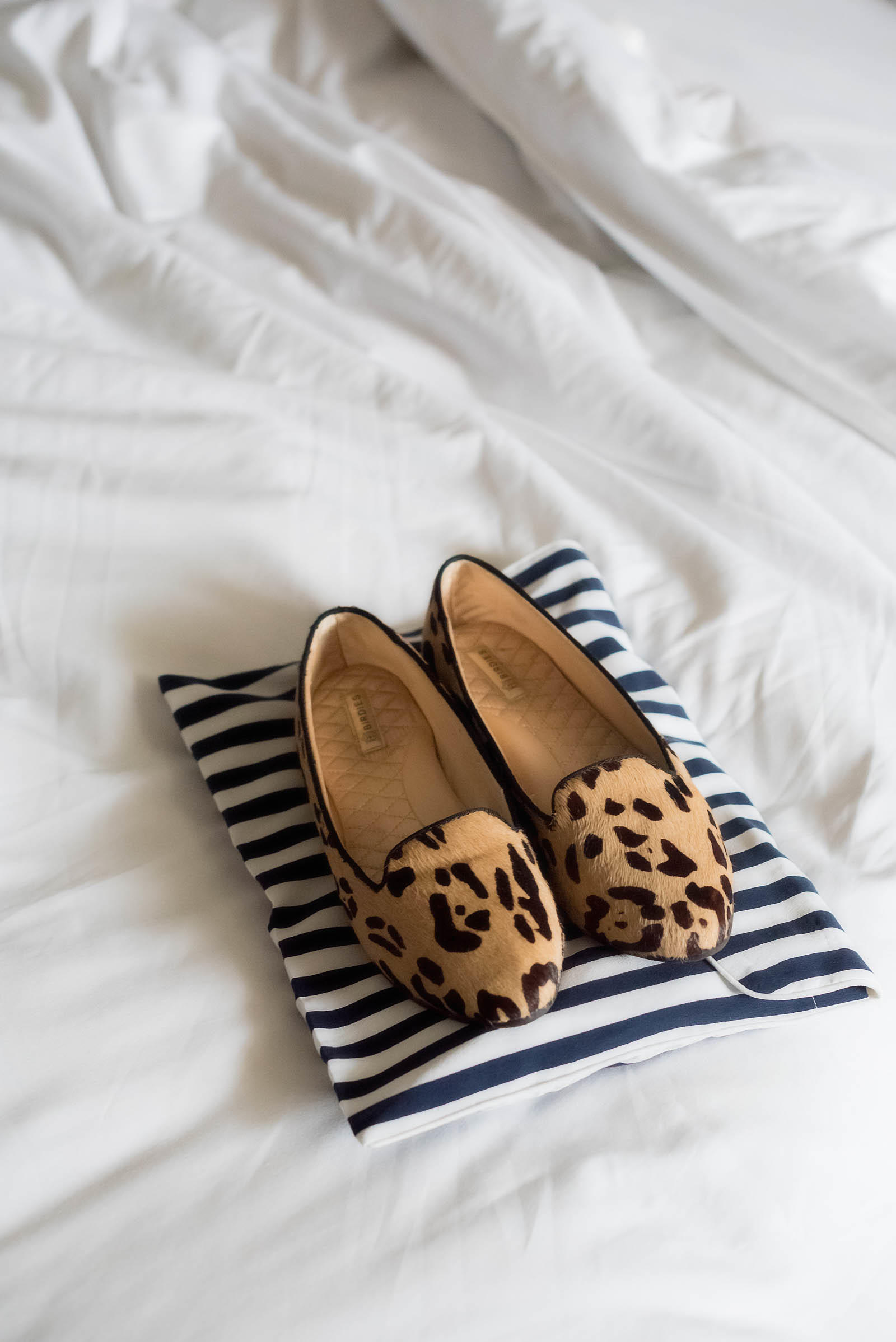 Birdie's Slippers Striped Equipment Pajamas