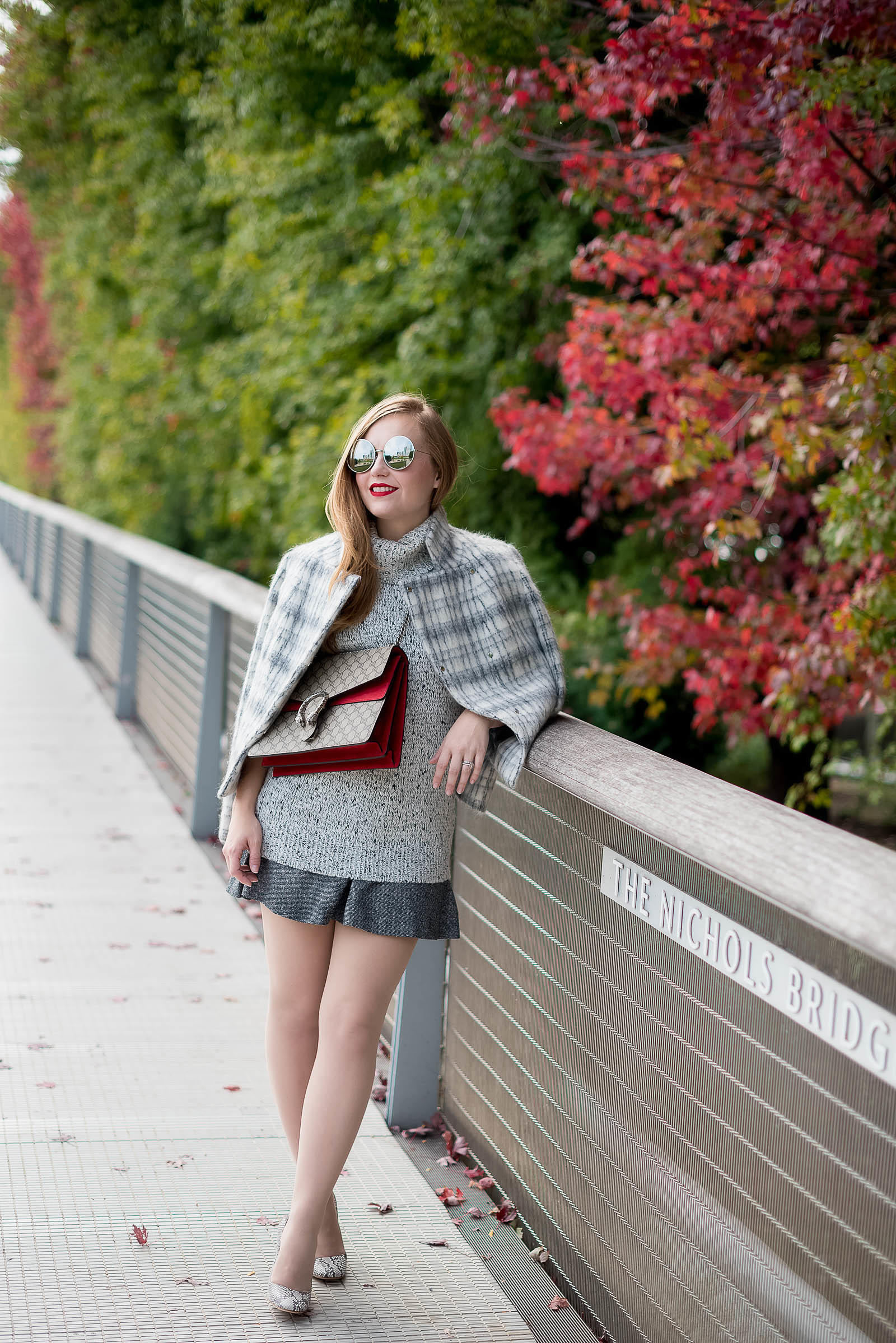 Gucci Fall Gray Style Chicago Fashion