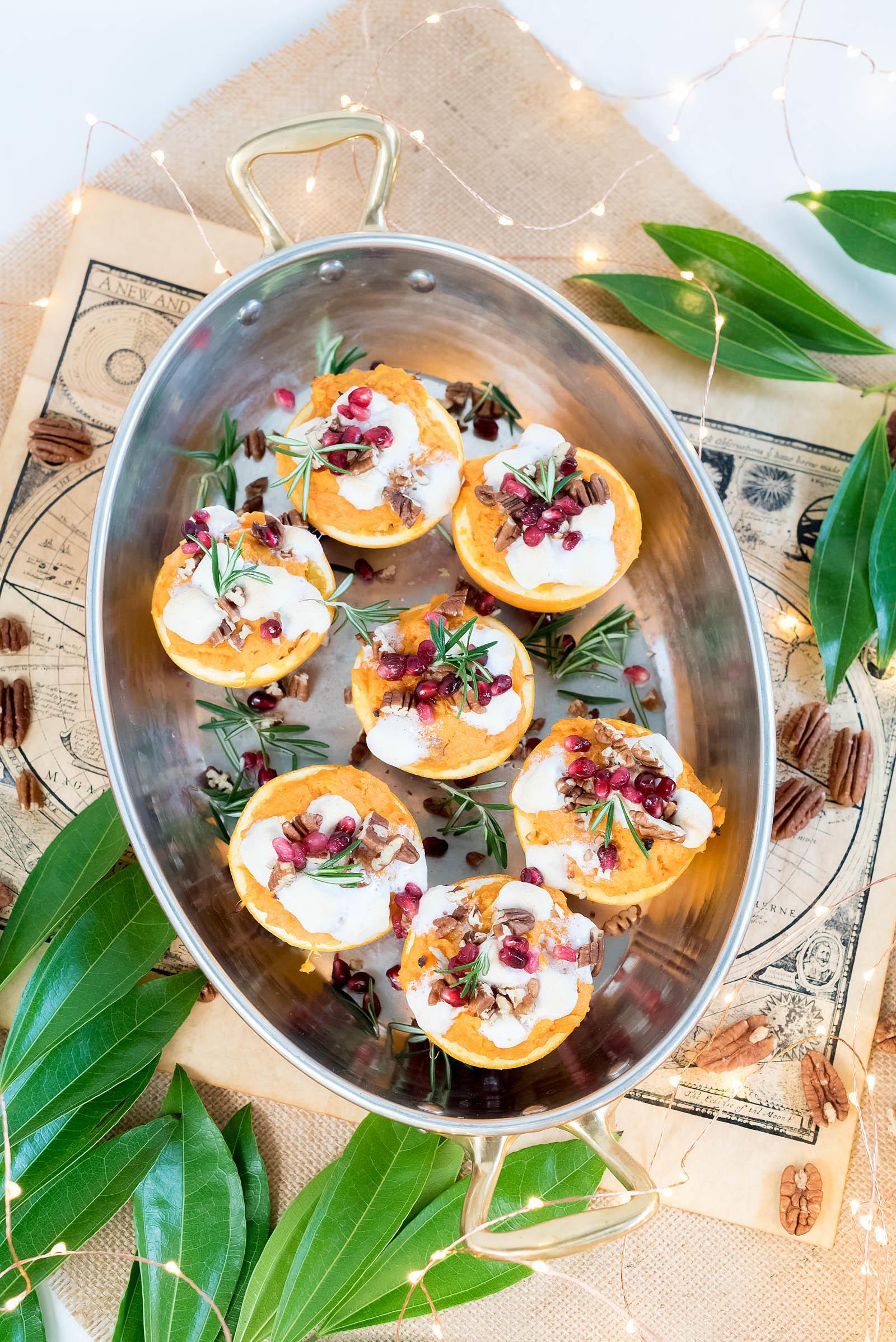 Sweet Potato Orange Cup Thanksgiving Recipe