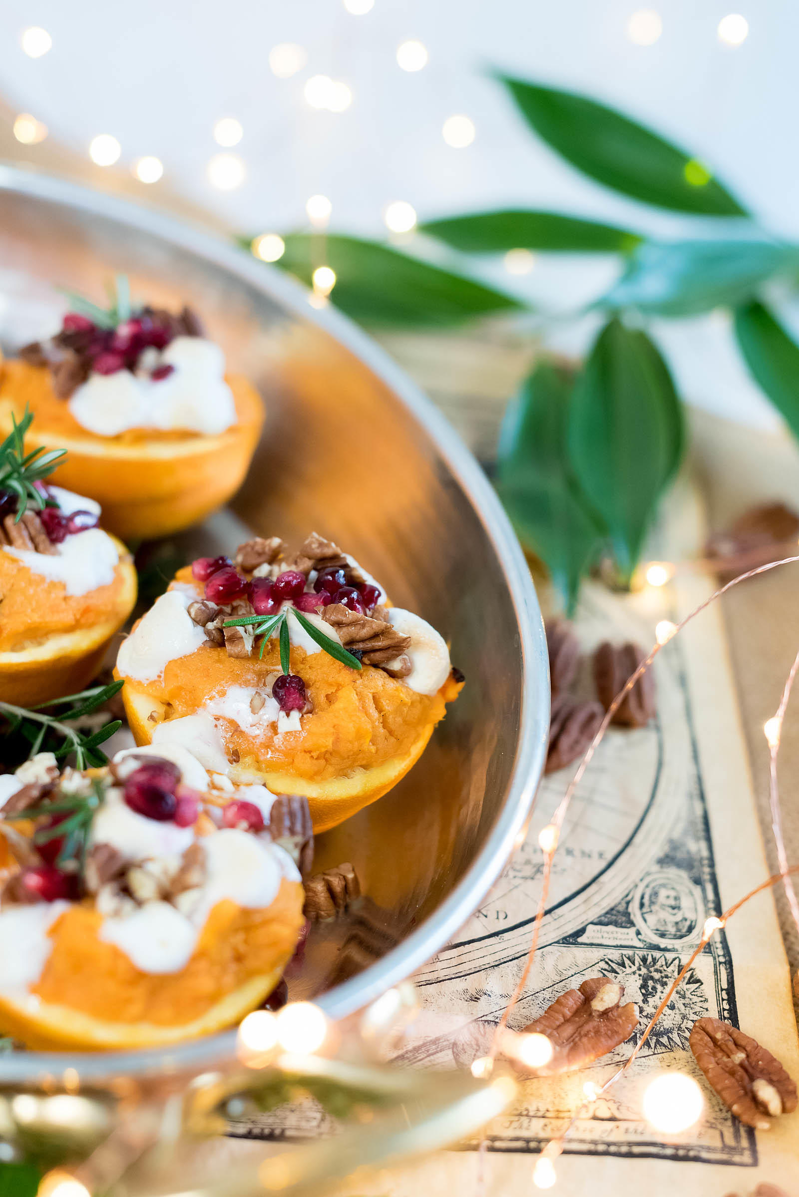 Sweet Potato Orange Cup Thanksgiving Recipe