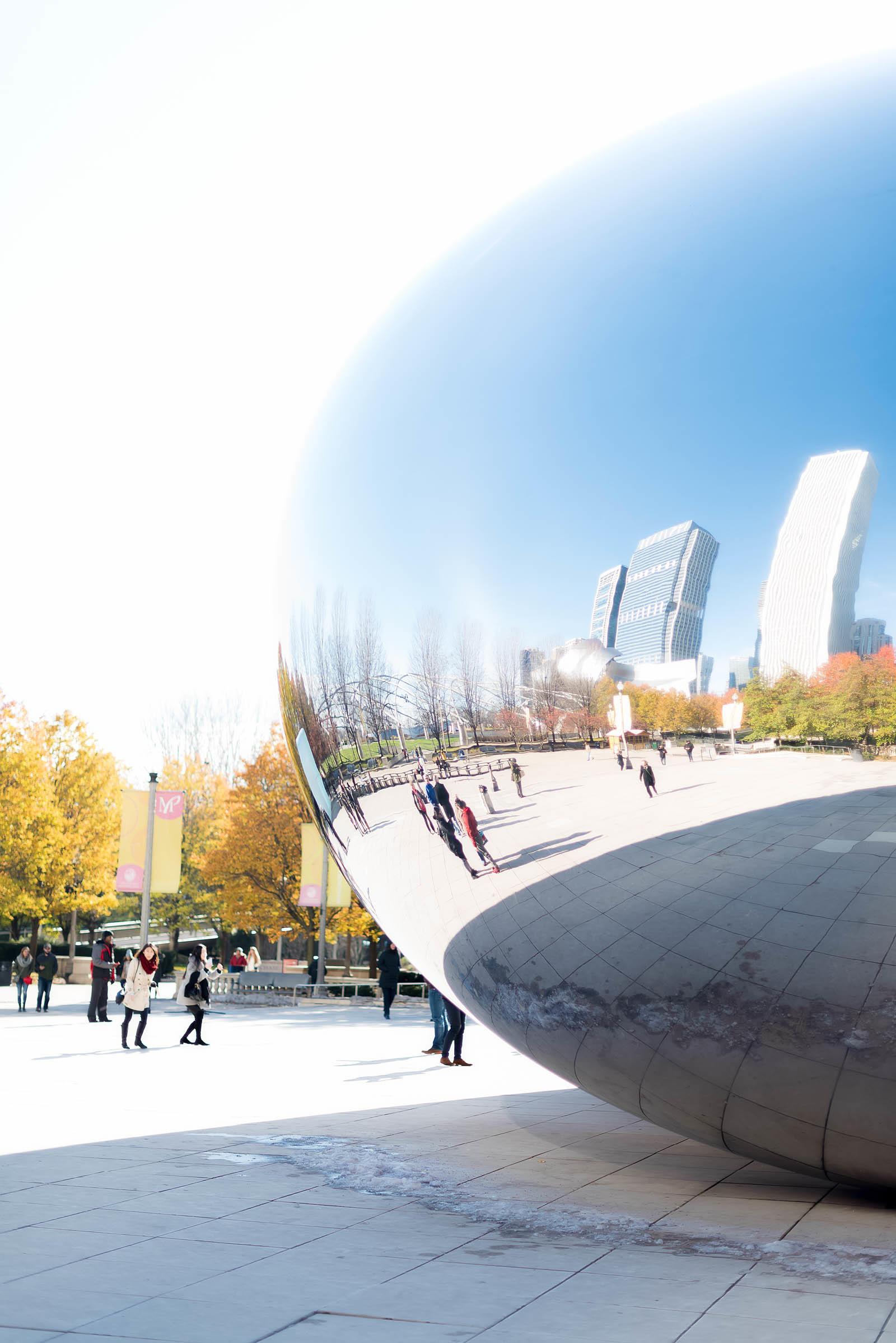 Cloud Gate Chicago Millennium Park Bean