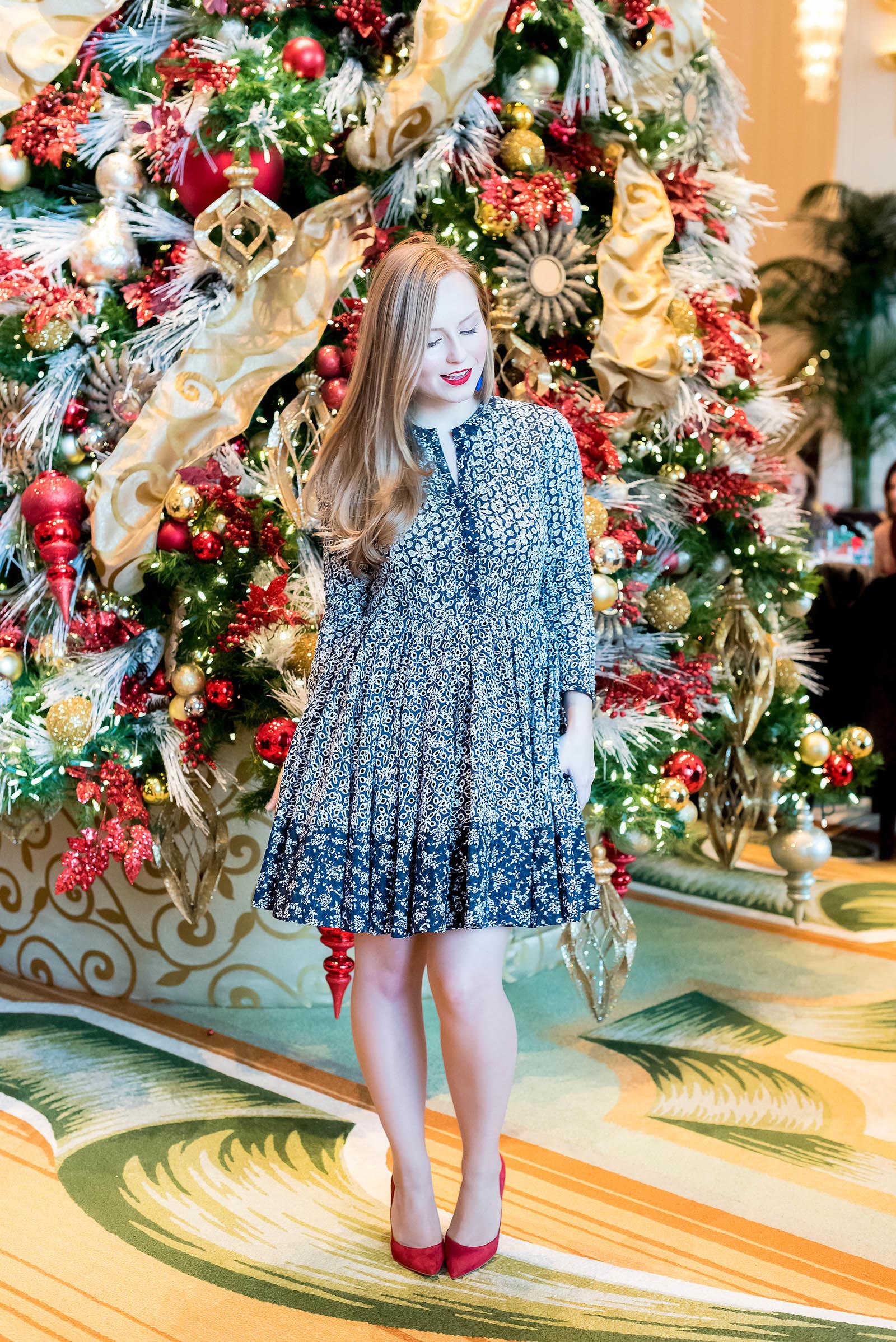 Peninsula Hotel Chicago Christmas Tree