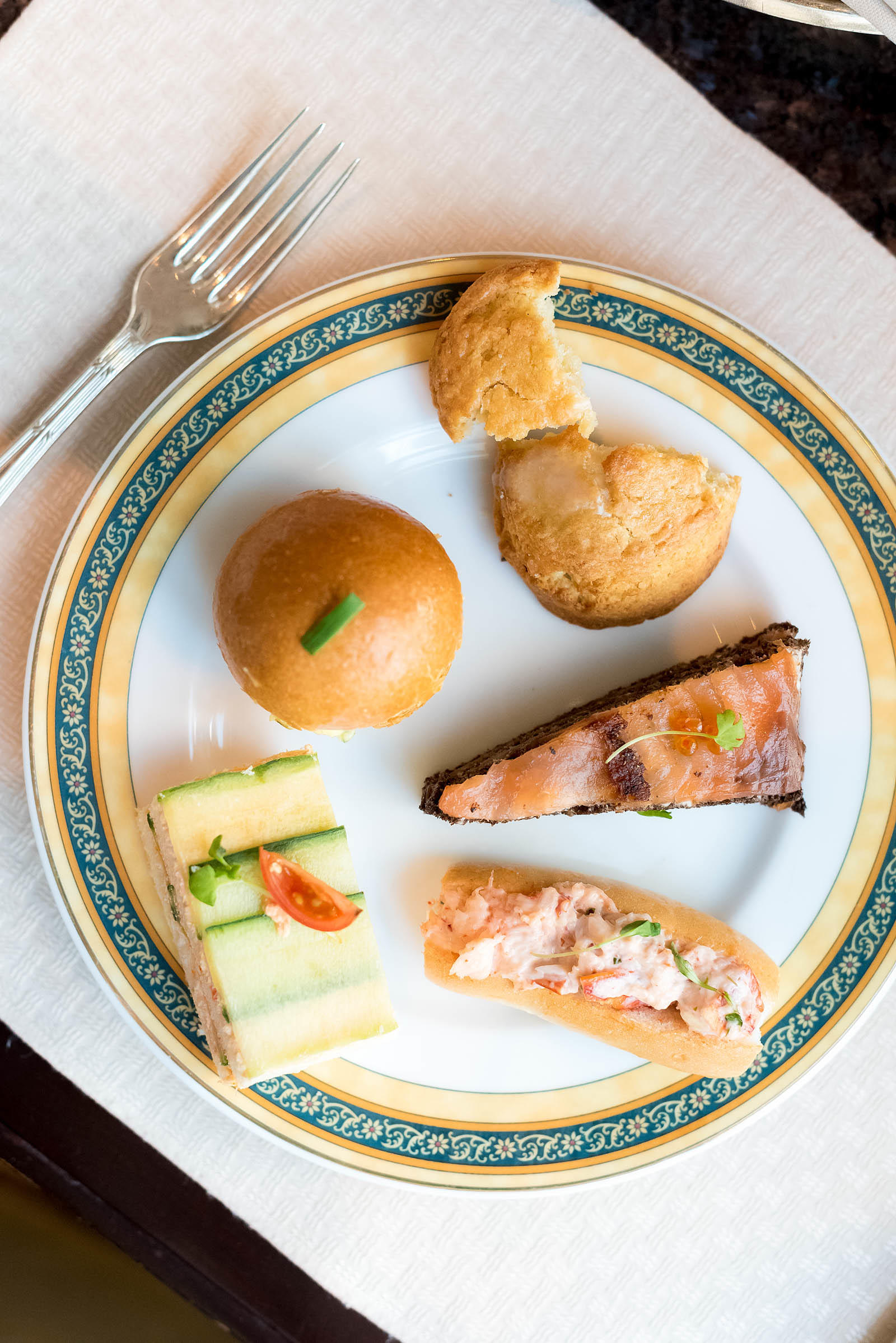 Peninsula Hotel Chicago Holiday Afternoon Tea