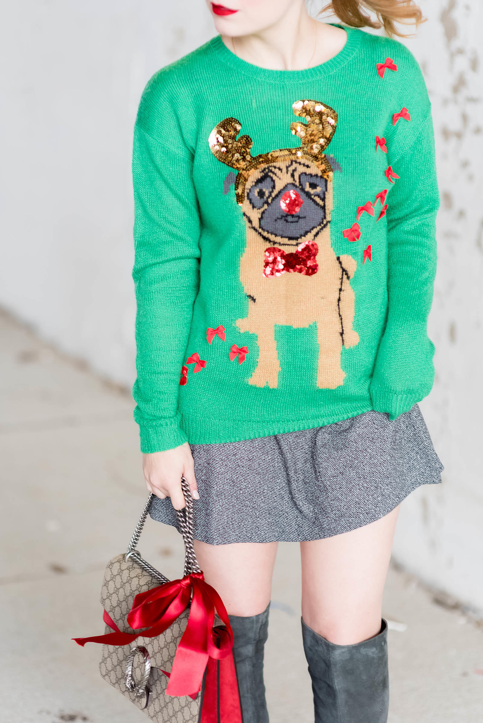How to Style An Ugly Christmas Sweater