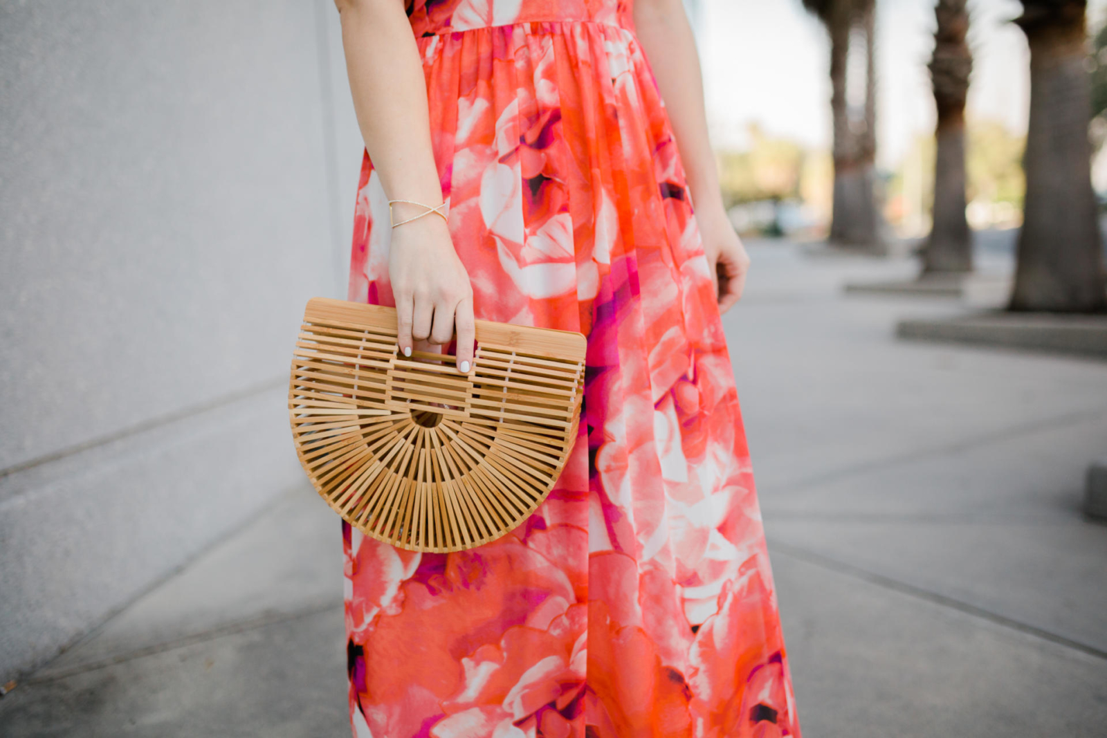 Florida Floral Maxi Dress Vacation Outfit Inspiration