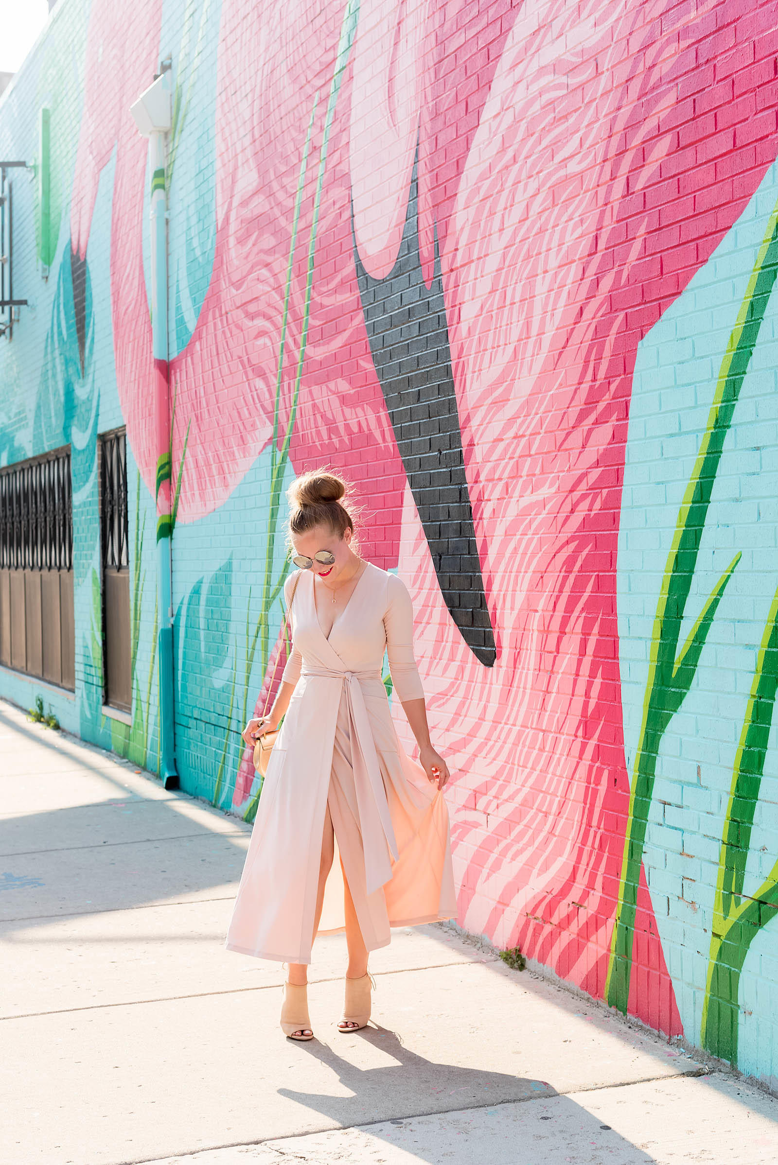Pink Blush Nude Summer Flamingo Outfit