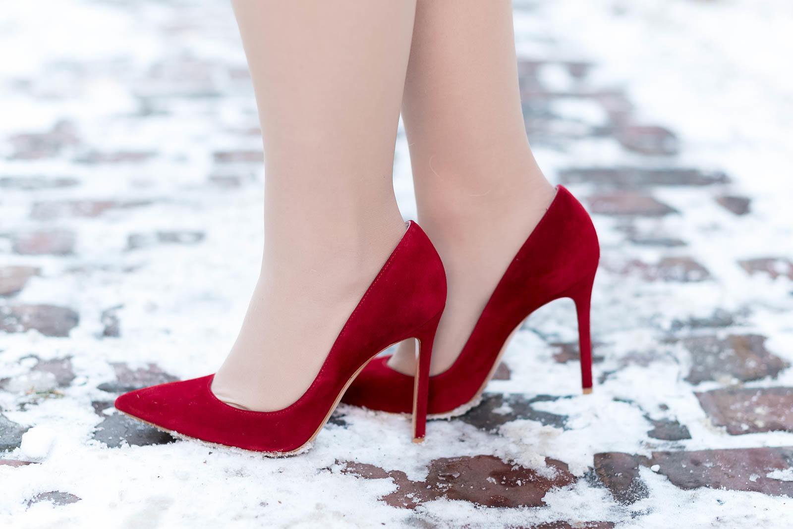 Cobalt Scarlet Winter Outfit Inspiration