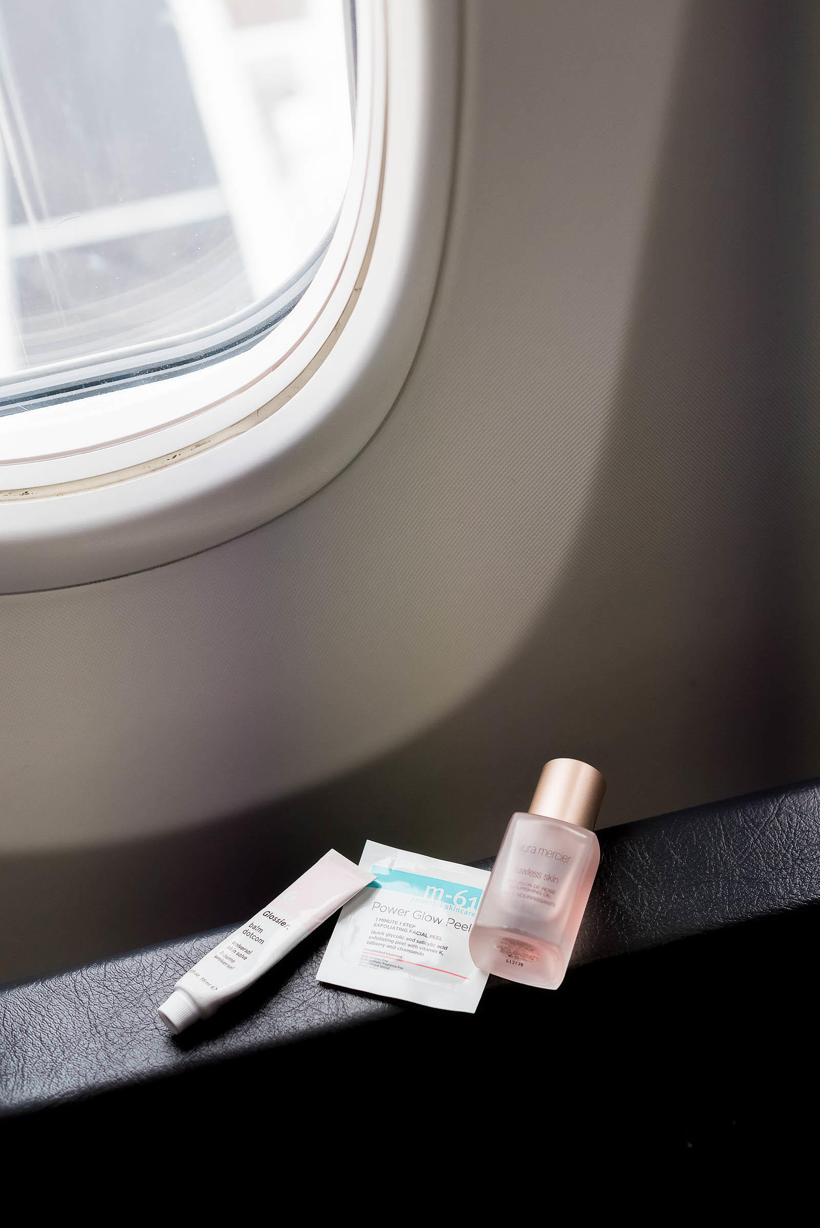 In-Flight Plane Skin Care Routine
