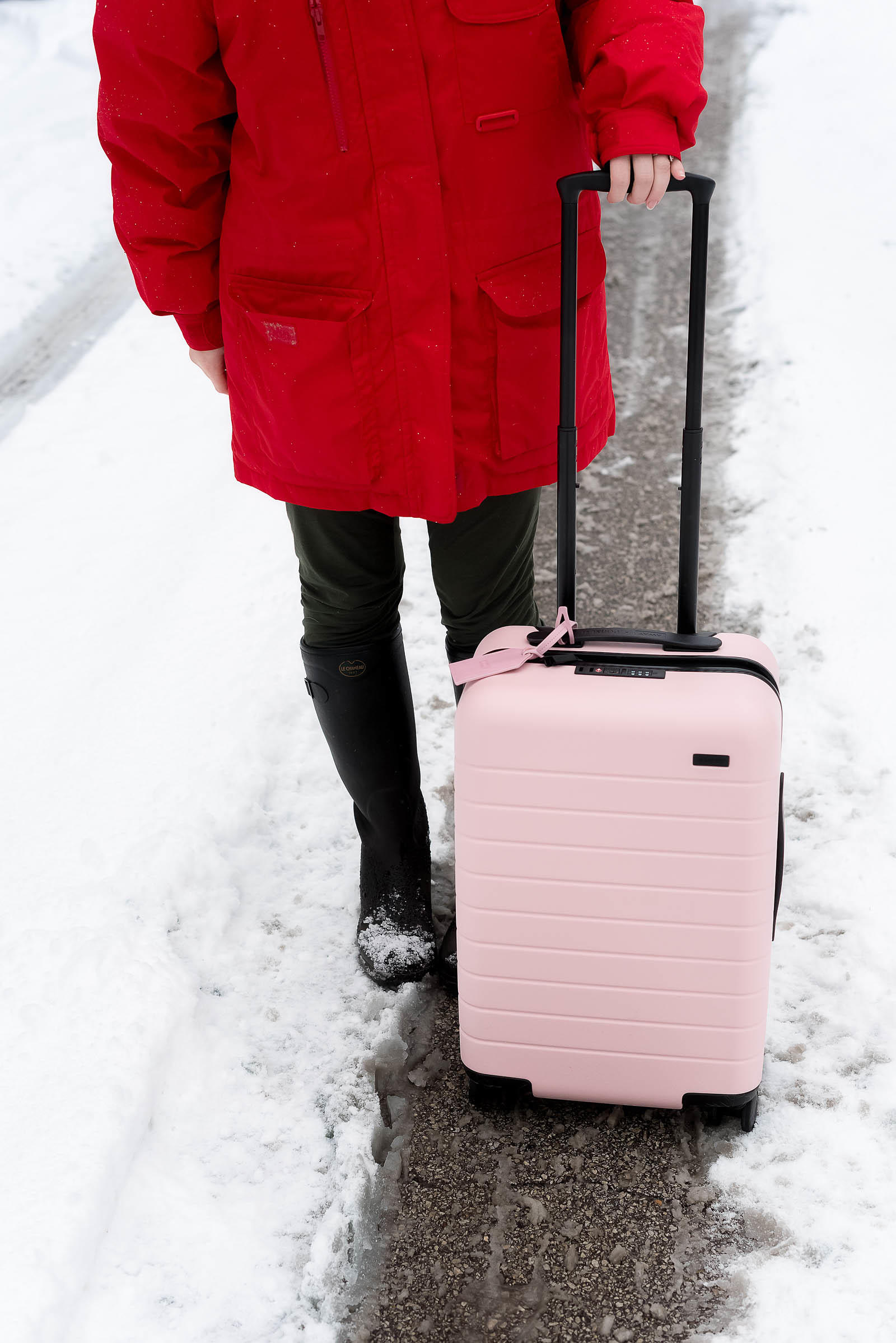 Away Pop Suki Pink International Carry - On Luggage