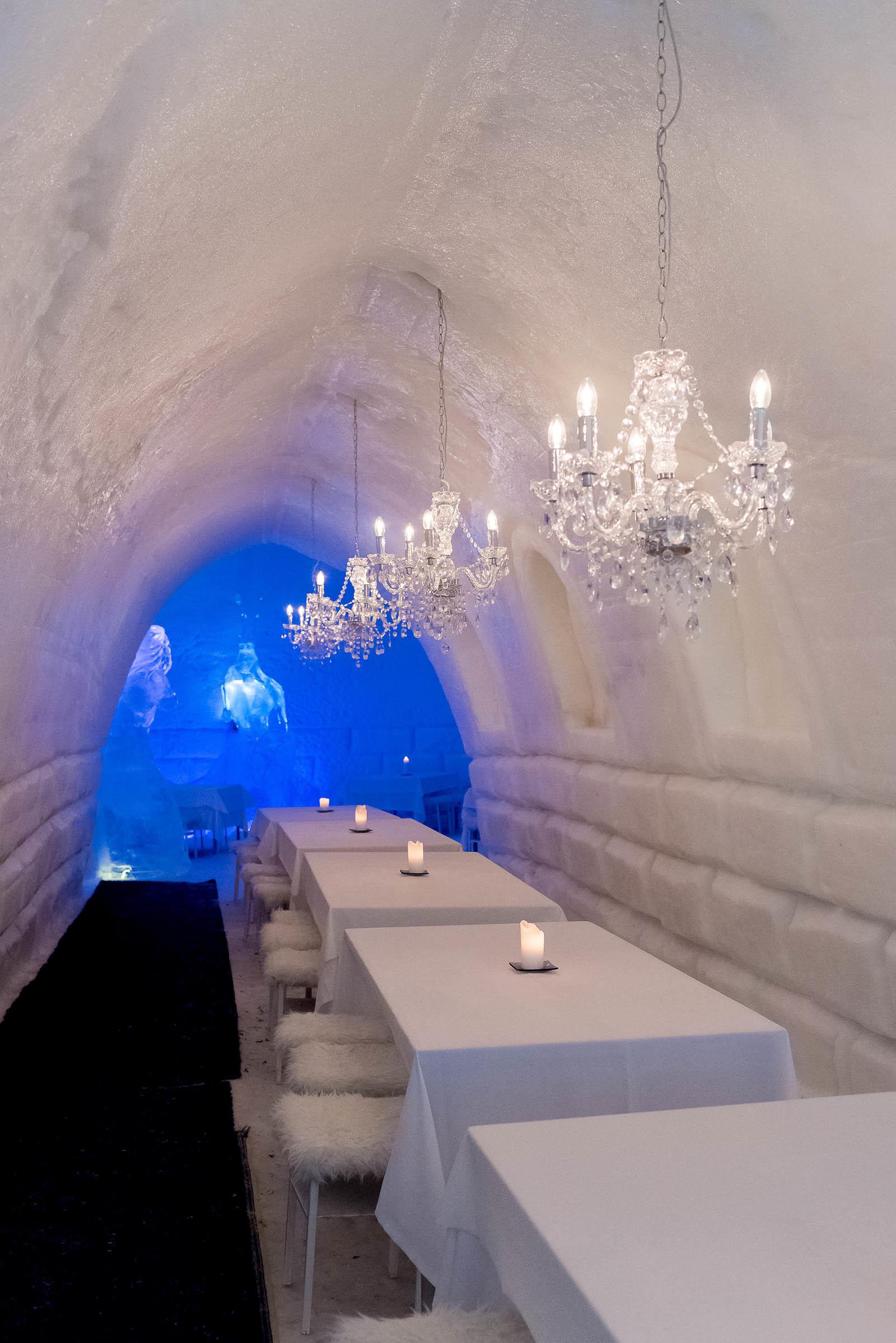 Rovaniemi Finland Santa Claus Village Snowman World Igloo Hotel Ice Hotel