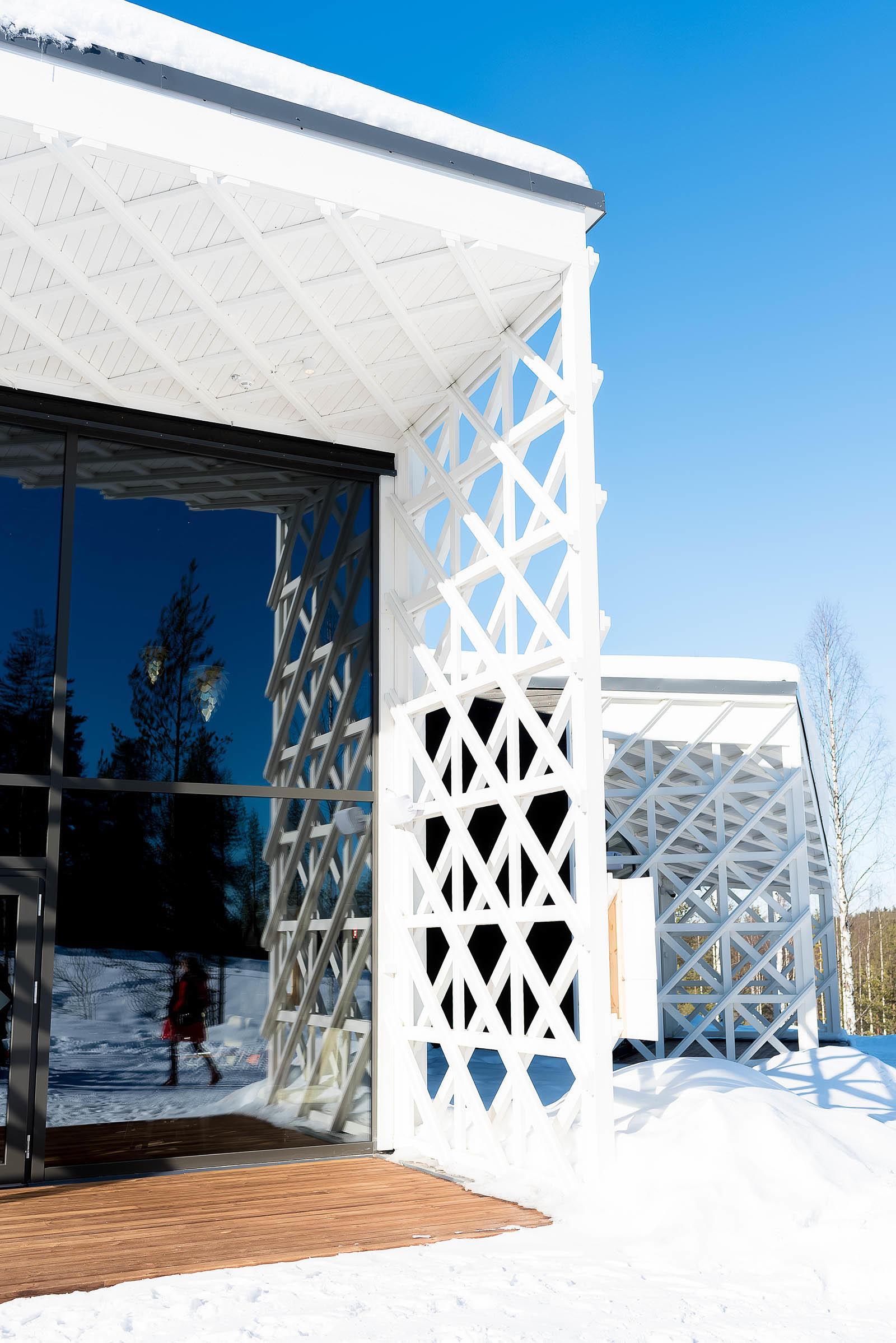 Rovaniemi Finland Santa Claus Village Arctic Circle Treehouse Hotel