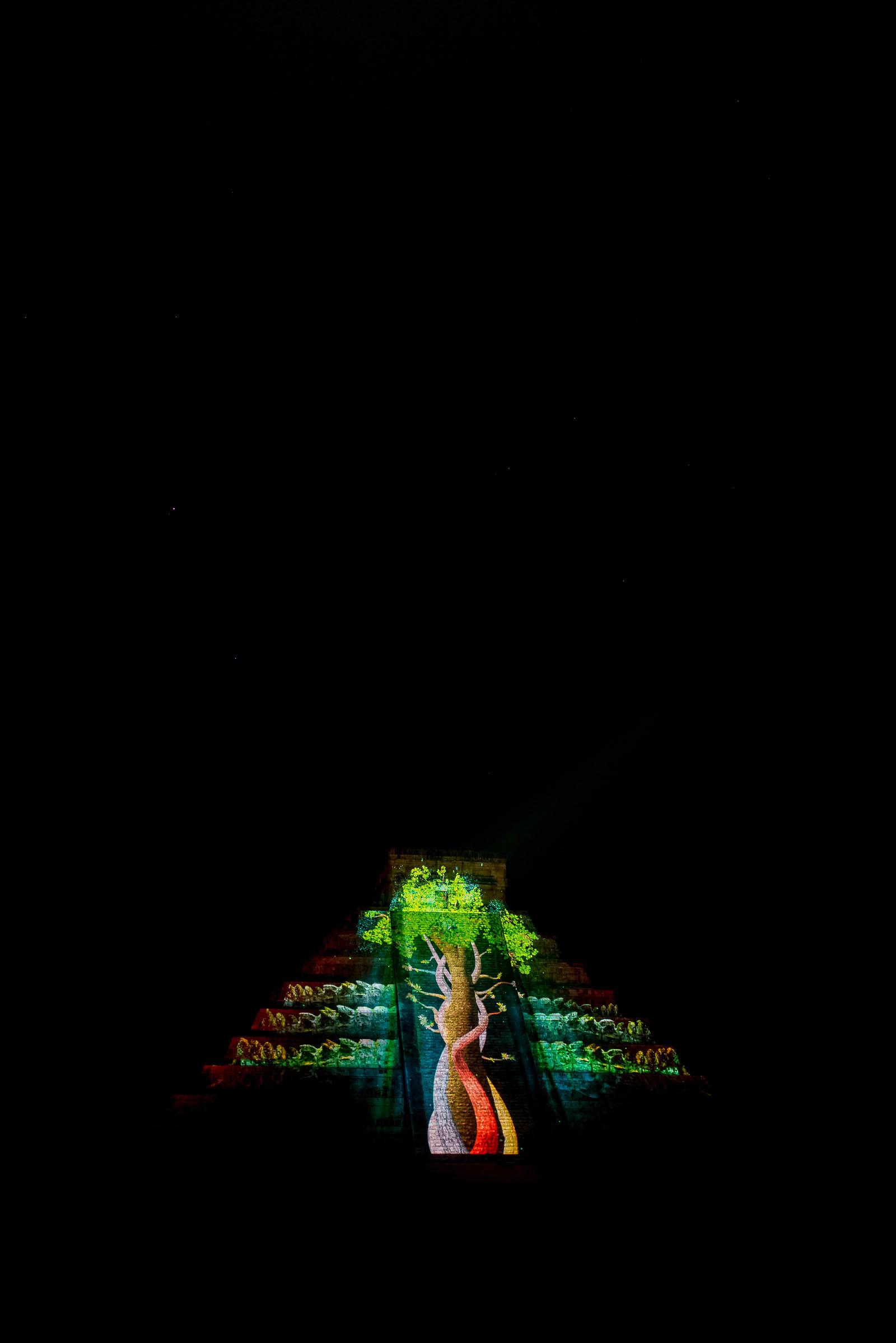 Chichen Itza Night Show 2017